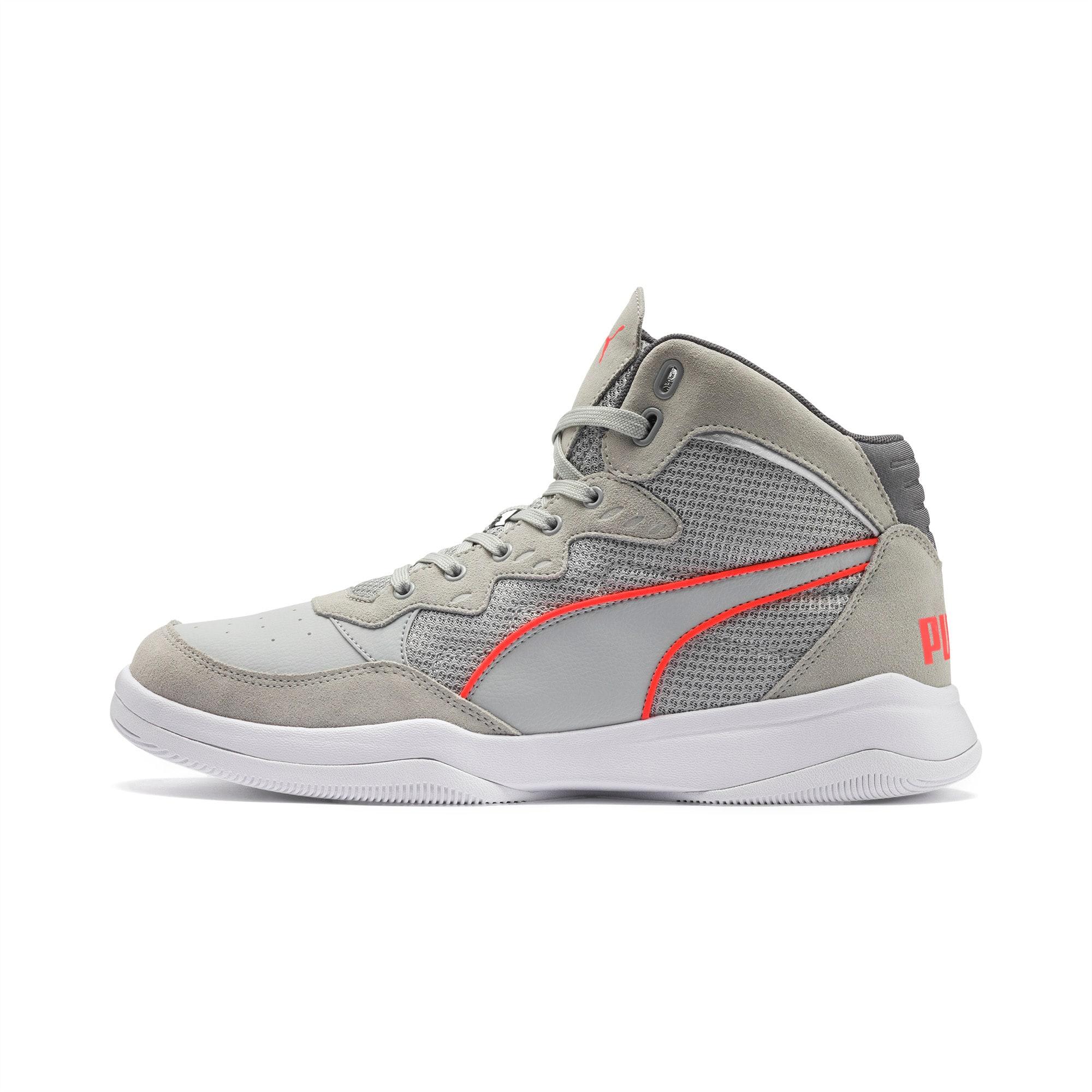PUMA Rebound Playoff Suede Sneakers