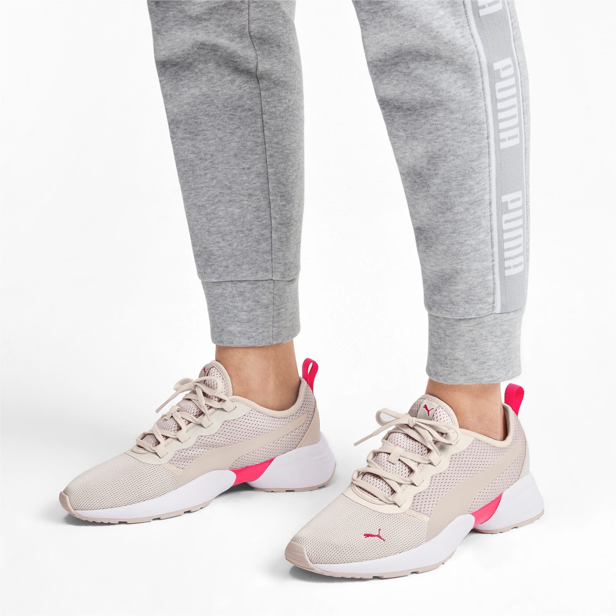 Thumbnail 3 of Sirena Sport Women's Trainers, Pastel Parchment-Nrgy Rose, medium-IND