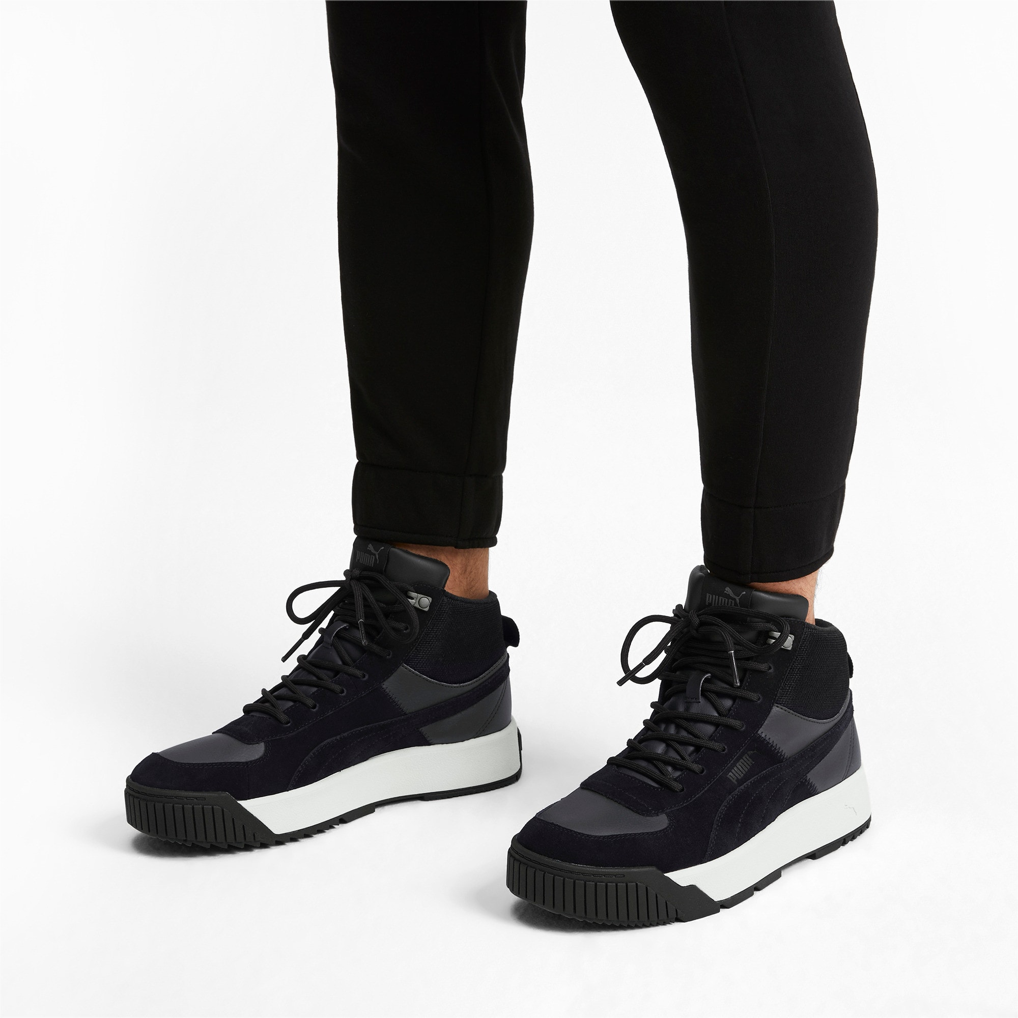 Thumbnail 2 van Tarrenz sneakerlaarsjes, Puma Black-Whisper White, medium