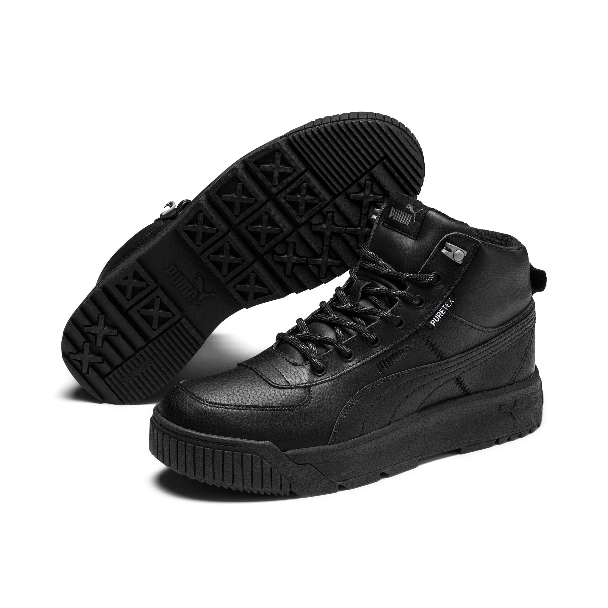 Thumbnail 3 of Tarrenz SB PURE-TEX Trainers, Puma Black-Puma Black, medium