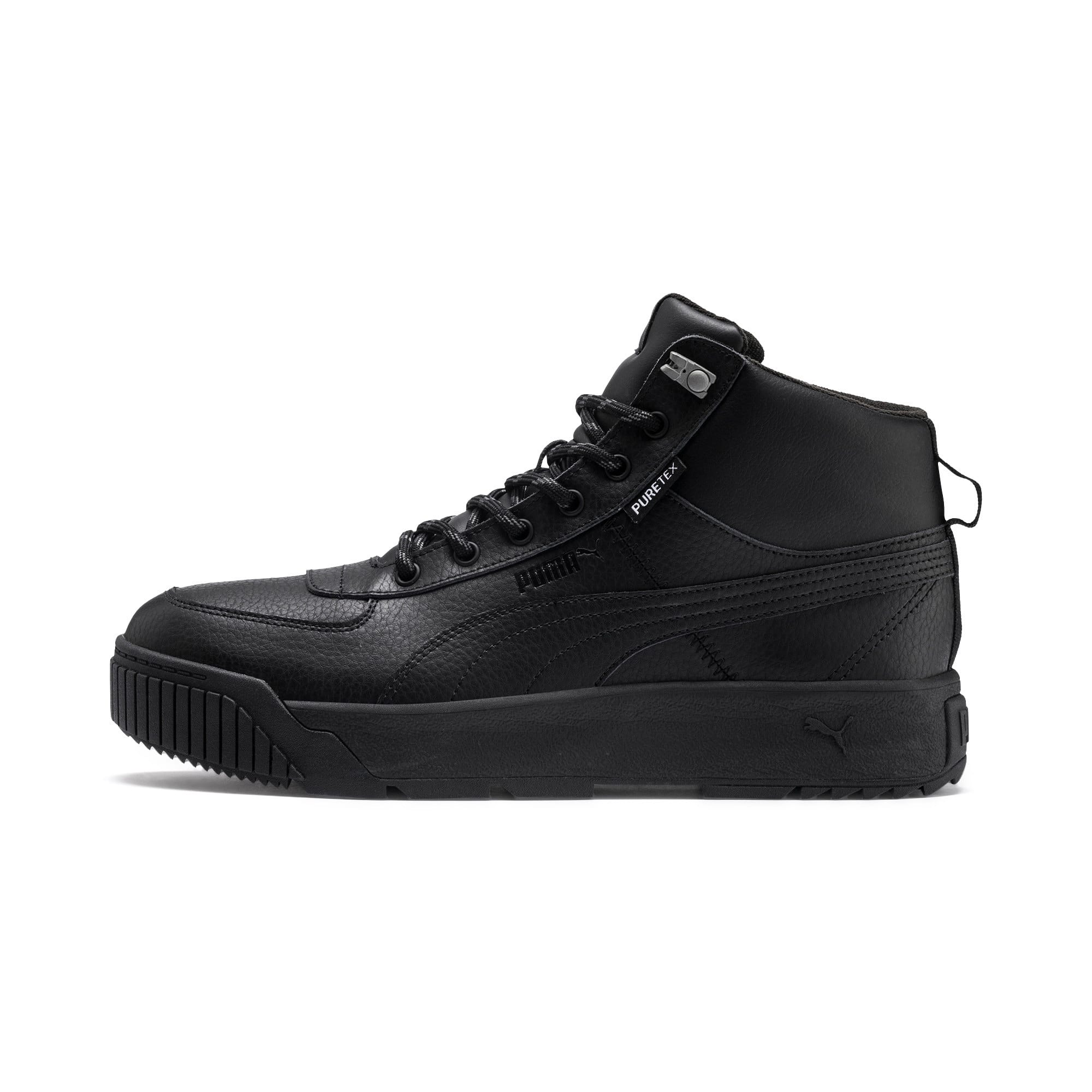 Thumbnail 1 of Tarrenz SB PURE-TEX Trainers, Puma Black-Puma Black, medium