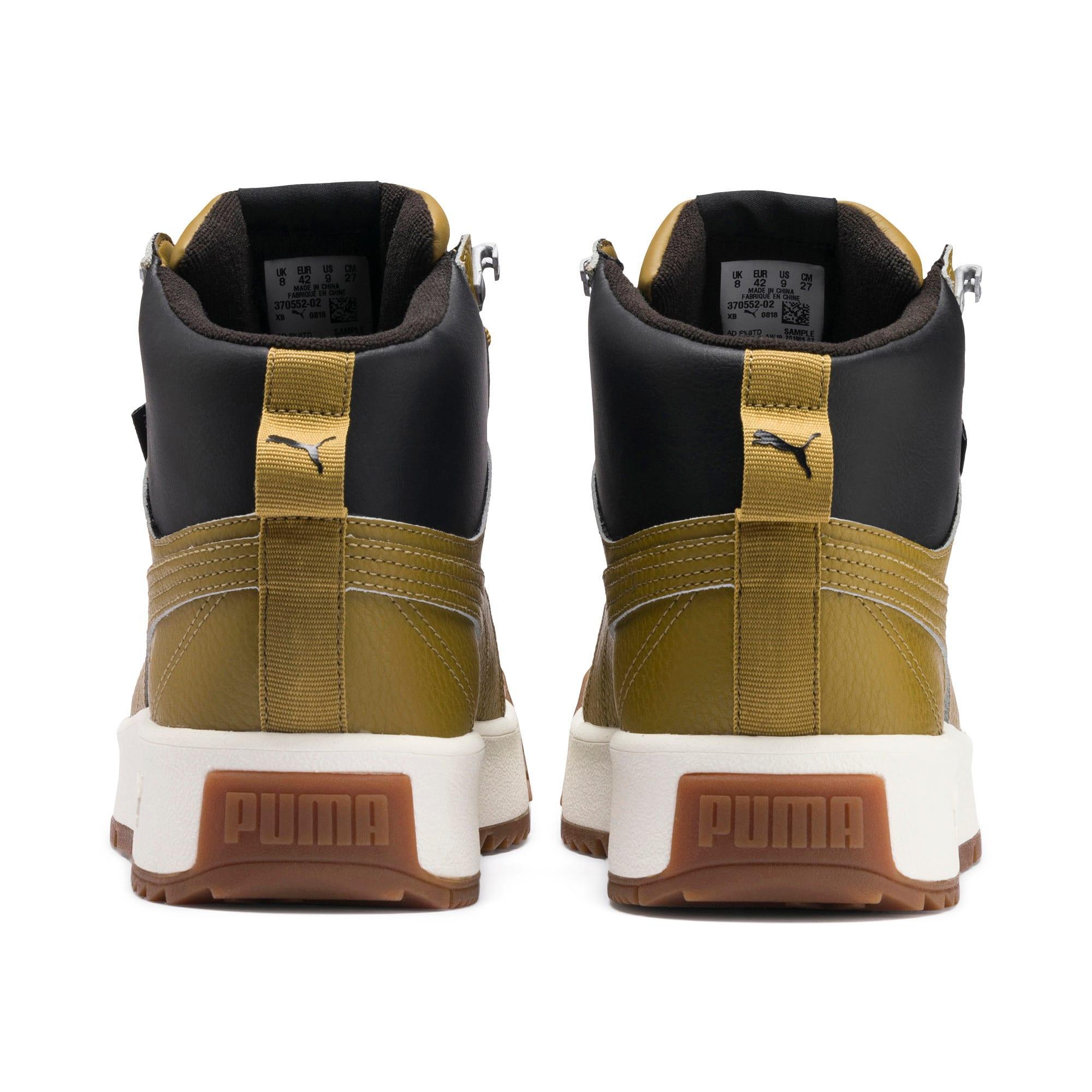 Thumbnail 4 of Tarrenz SB PURETEX Mid Sneakers, Moss Green-Puma Black, medium