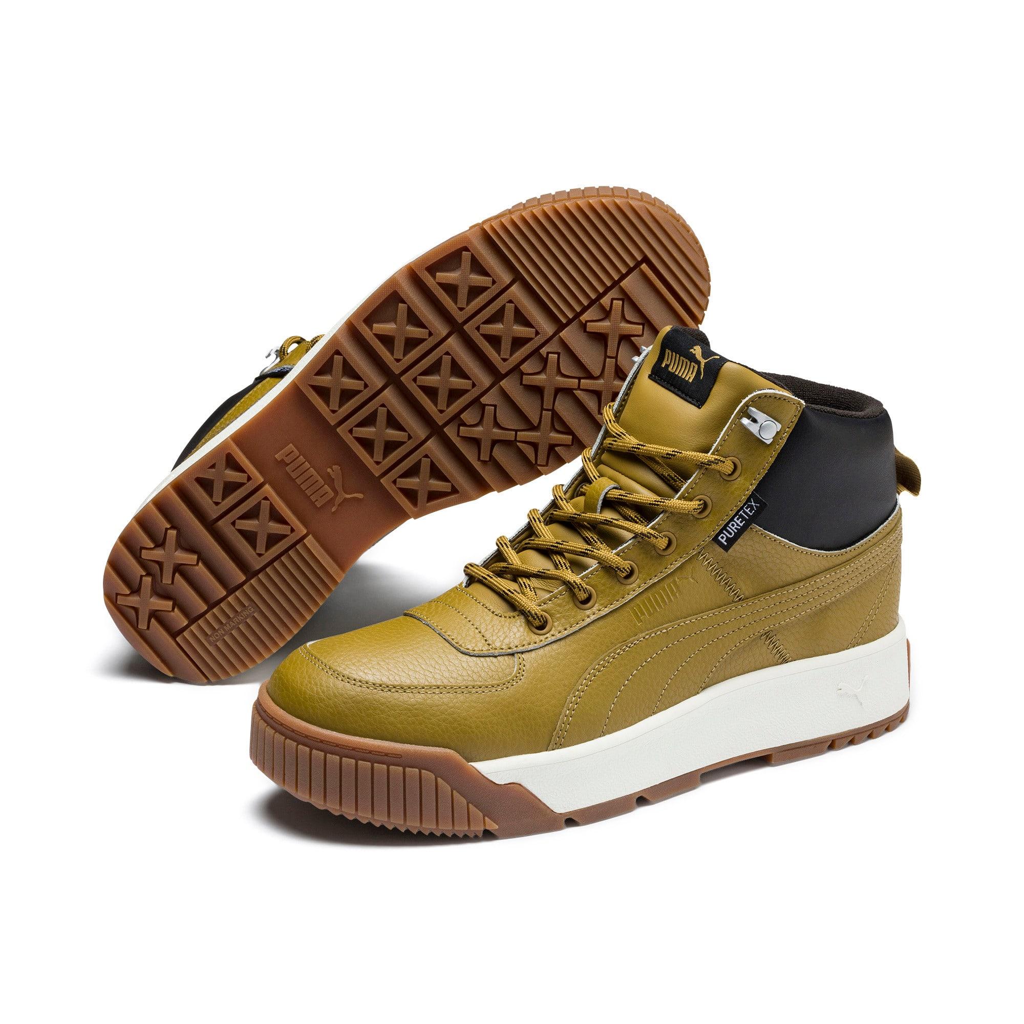 Thumbnail 3 of Tarrenz SB PURETEX Mid Sneakers, Moss Green-Puma Black, medium