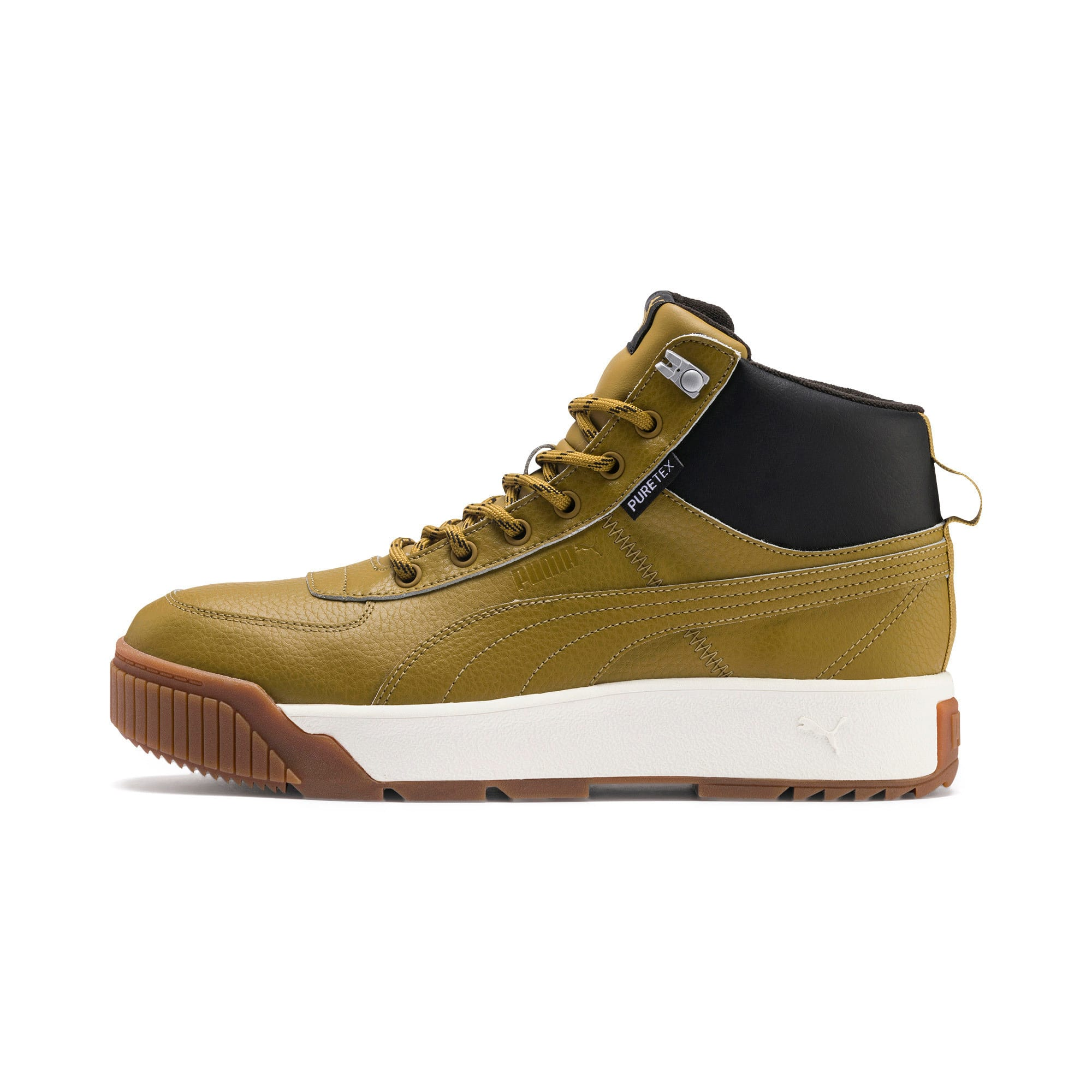 Thumbnail 1 of Tarrenz SB PURETEX Mid Sneakers, Moss Green-Puma Black, medium