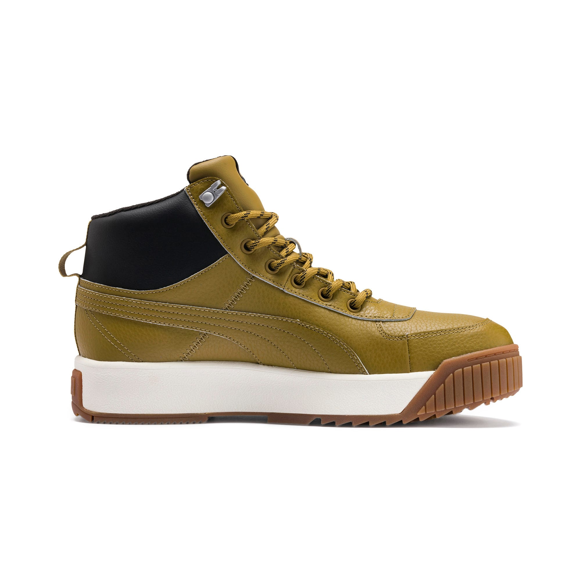 Thumbnail 6 of Tarrenz SB PURETEX Mid Sneakers, Moss Green-Puma Black, medium