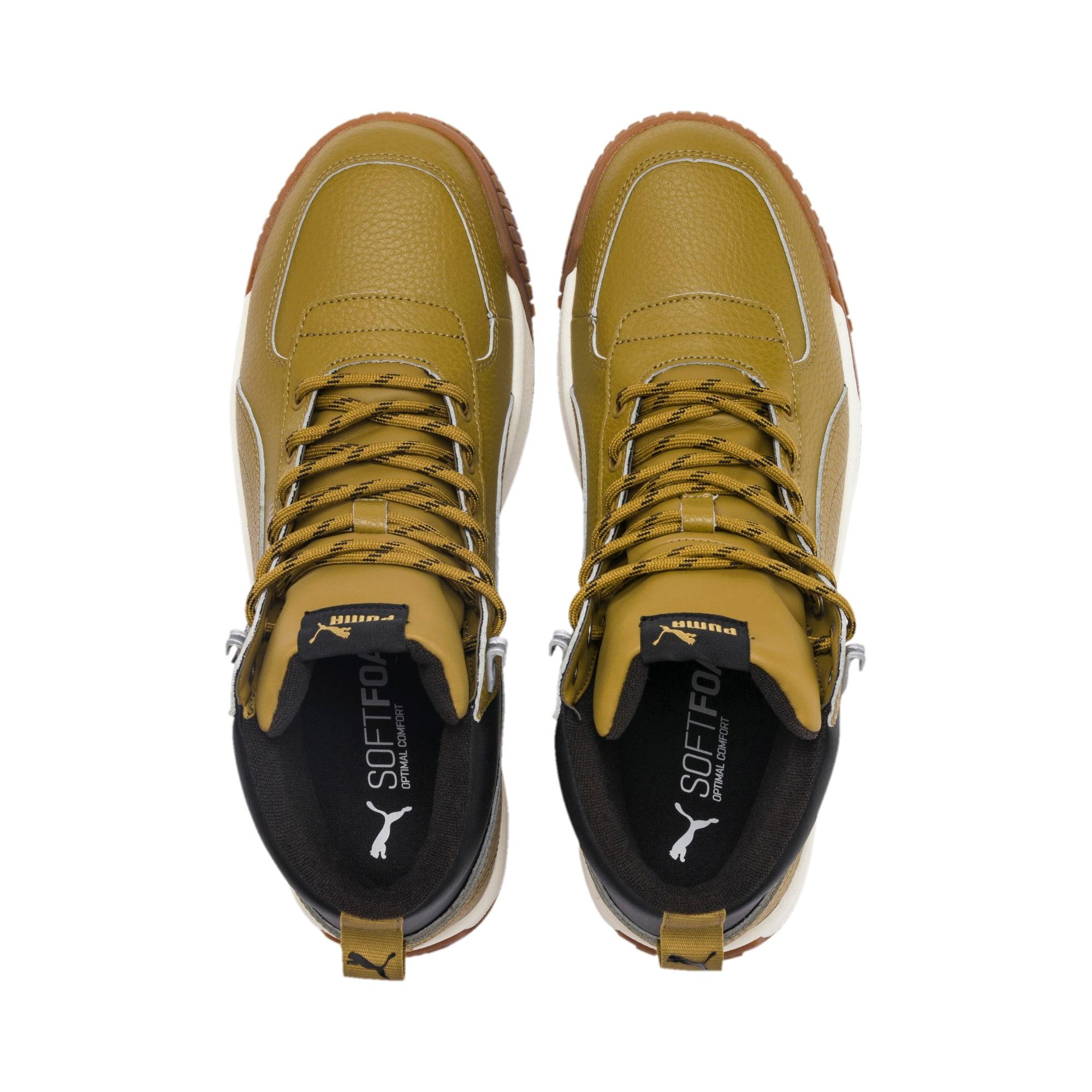Thumbnail 7 of Tarrenz SB PURETEX Mid Sneakers, Moss Green-Puma Black, medium