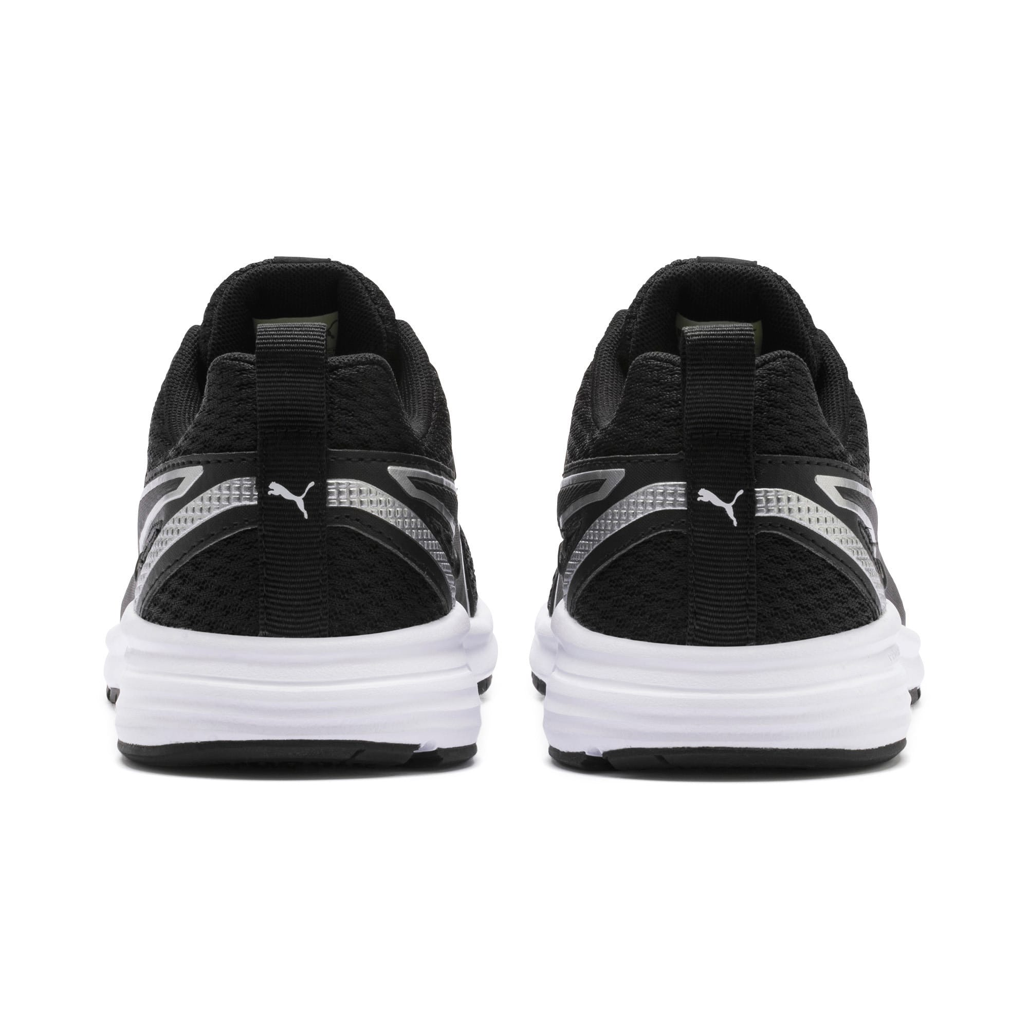 Thumbnail 3 of Pure Jogger Youth Trainers, Black-Silver-Wht-Nrgy Yellow, medium-IND
