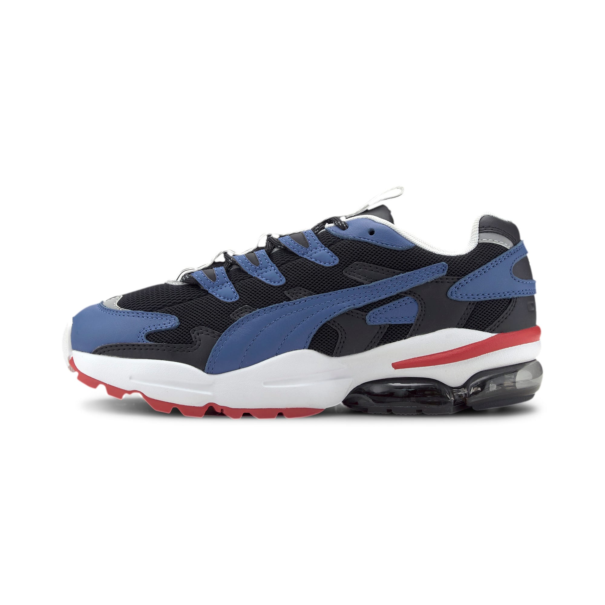 Thumbnail 1 of PUMA x KARL LAGERFELD CELL Alien Trainers, Puma Black-TRUE BLUE, medium