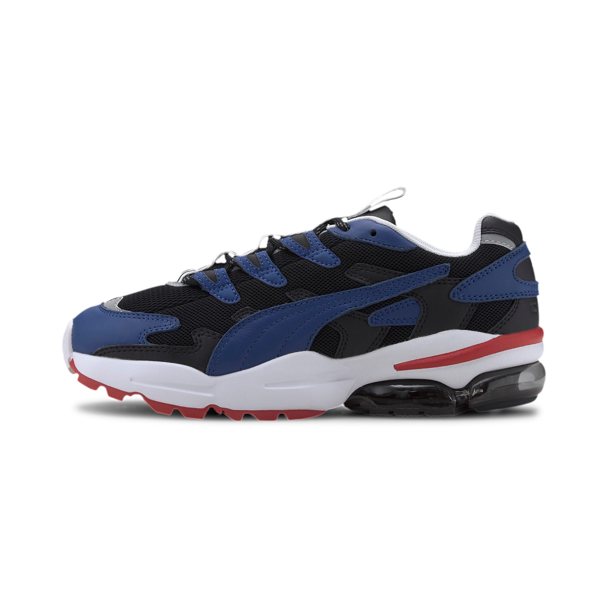 Thumbnail 6 of PUMA x KARL LAGERFELD CELL Alien Trainers, Puma Black-TRUE BLUE, medium