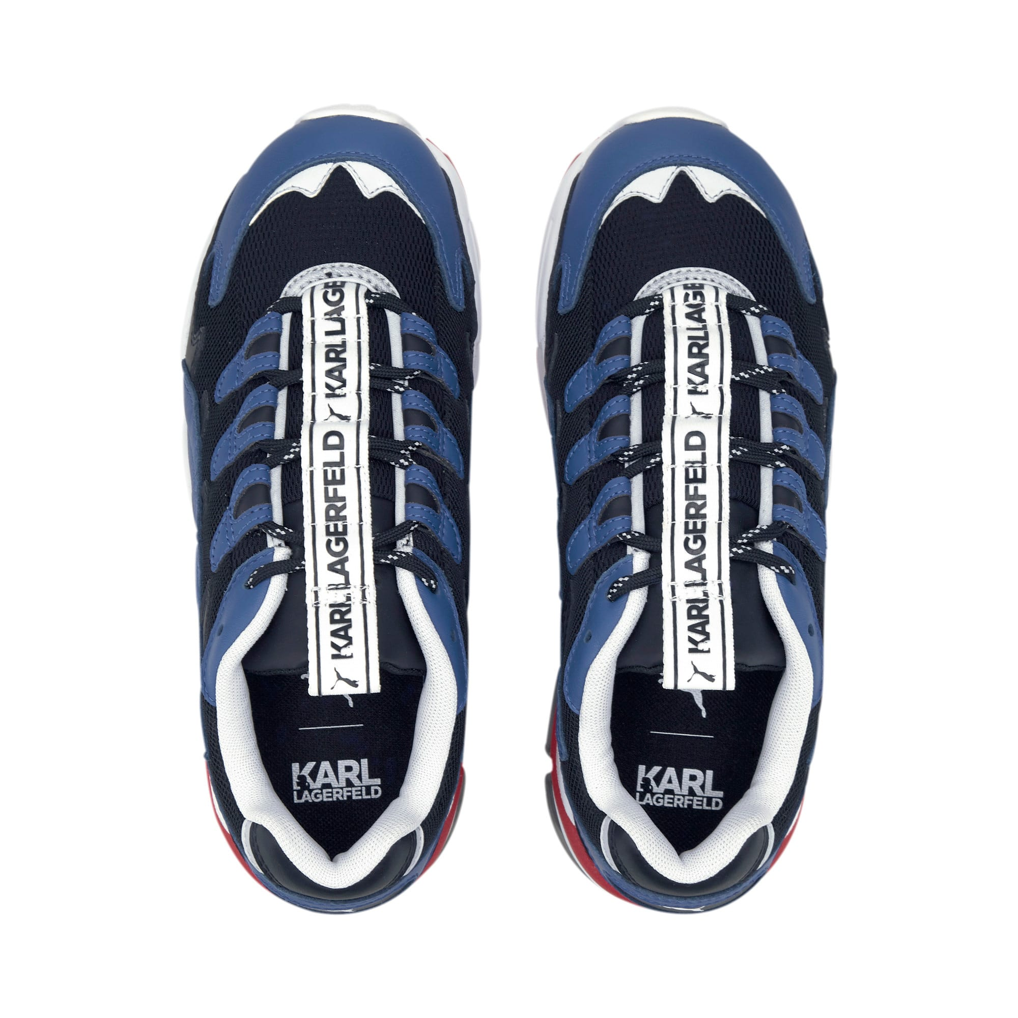 Thumbnail 7 of PUMA x KARL LAGERFELD CELL Alien Trainers, Puma Black-TRUE BLUE, medium