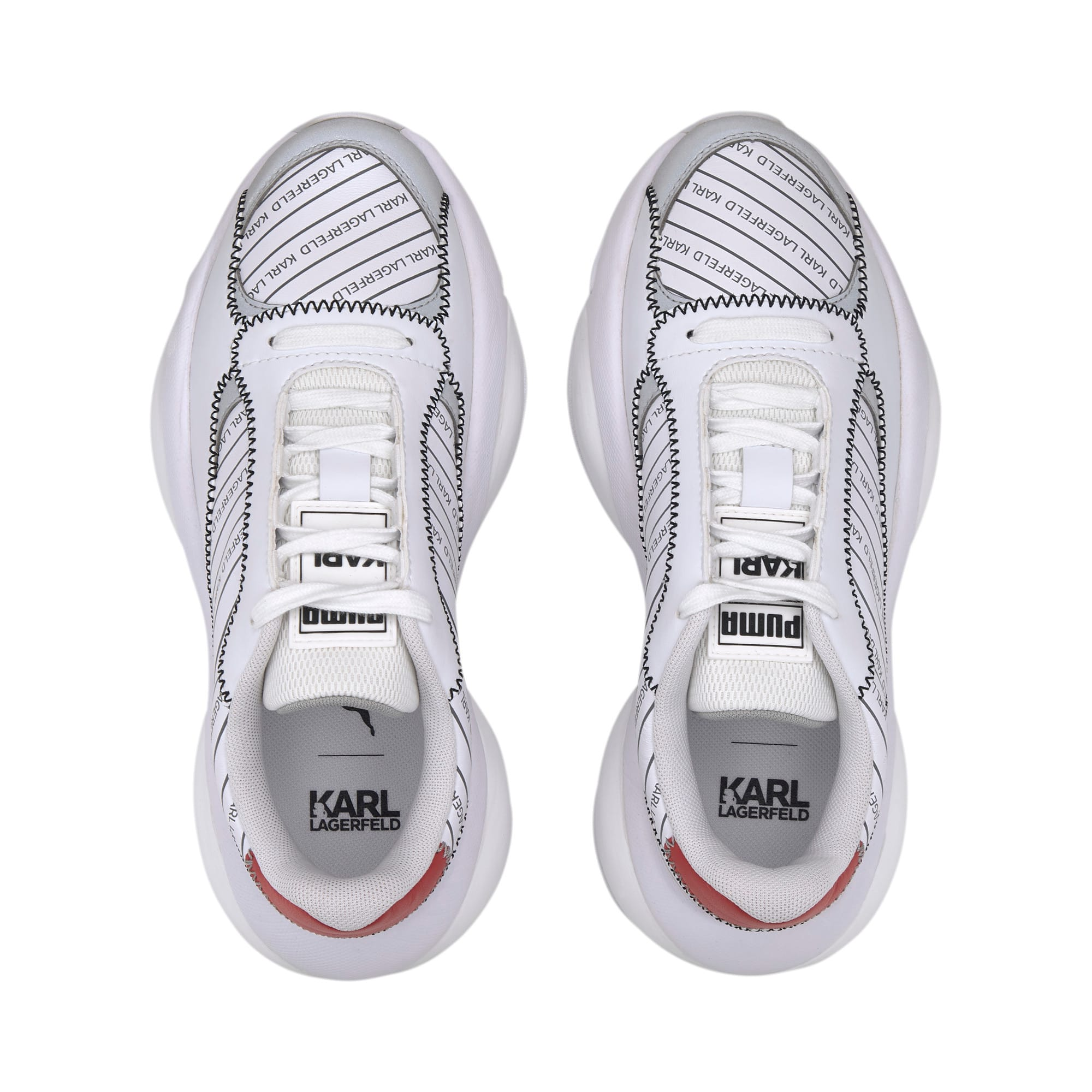 PUMA x KARL LAGERFELD Alteration Sneakers, Puma White, large