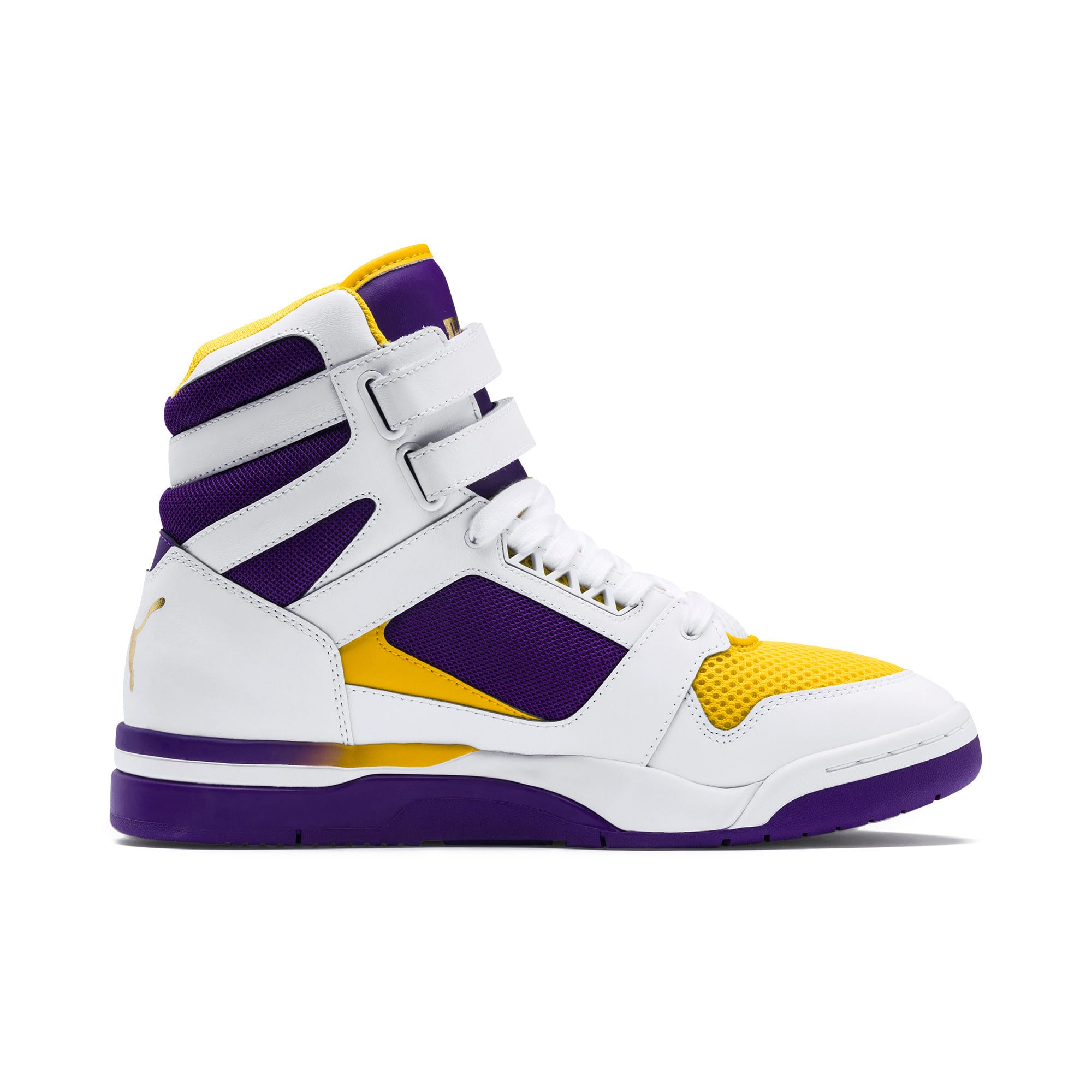 Thumbnail 5 of Palace Guard Mid Finals Sneakers, Puma White-Prism Violet-, medium