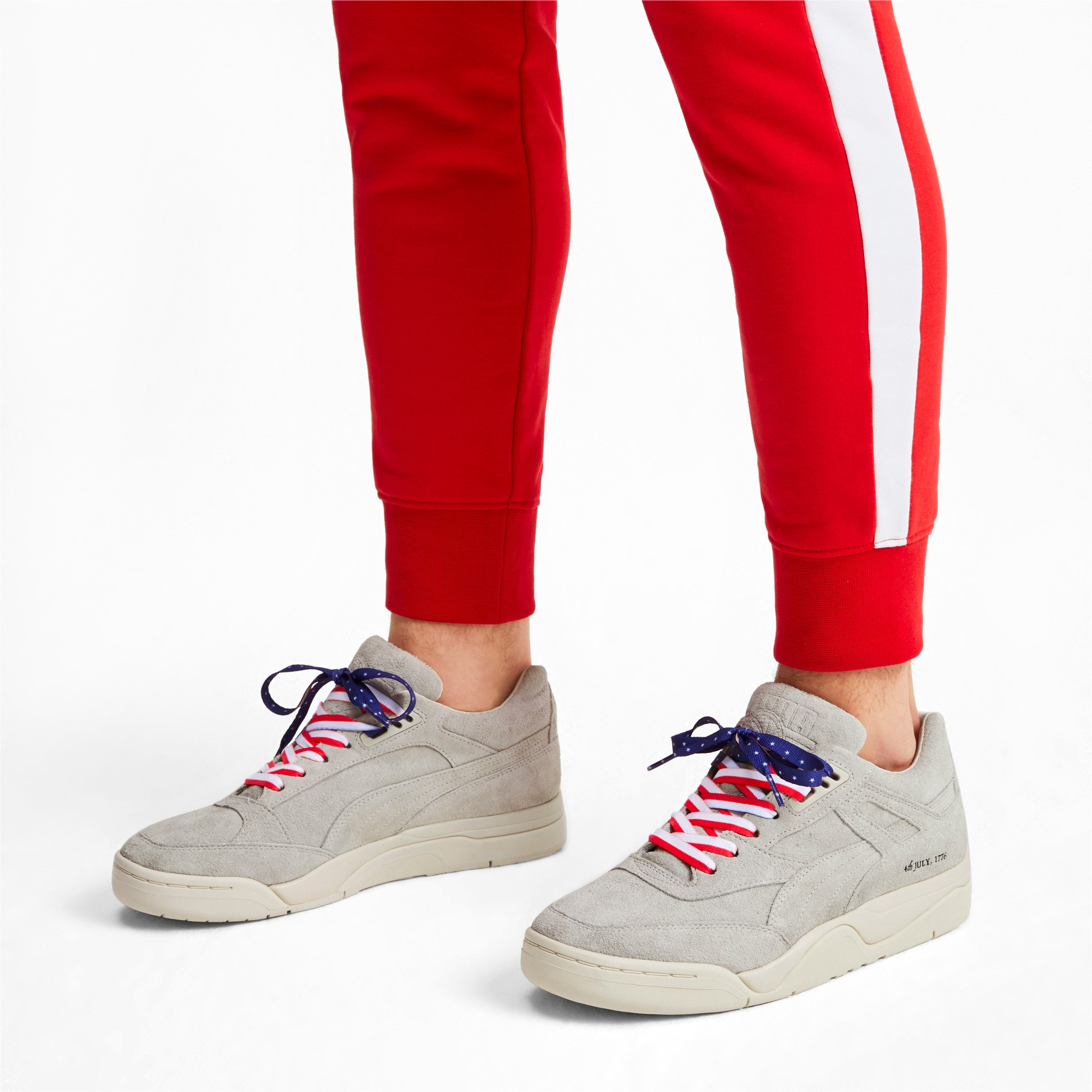 Thumbnail 2 of Palace Guard 4th of July Trainers, Whisper White-Puma Black, medium-IND