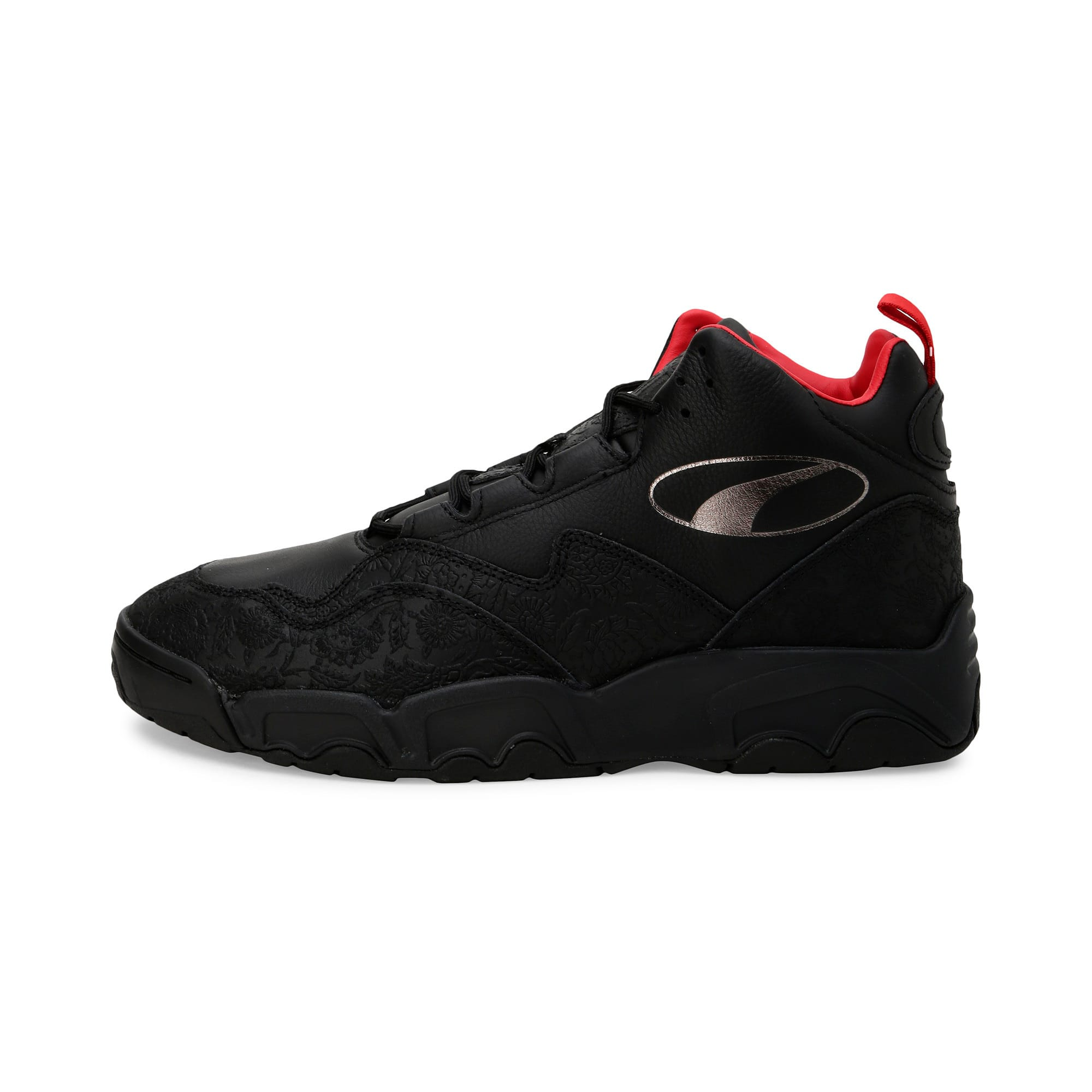Thumbnail 1 of Source Mid World Cup Trainers, P Blk-Bronze-High Risk Red, medium-IND