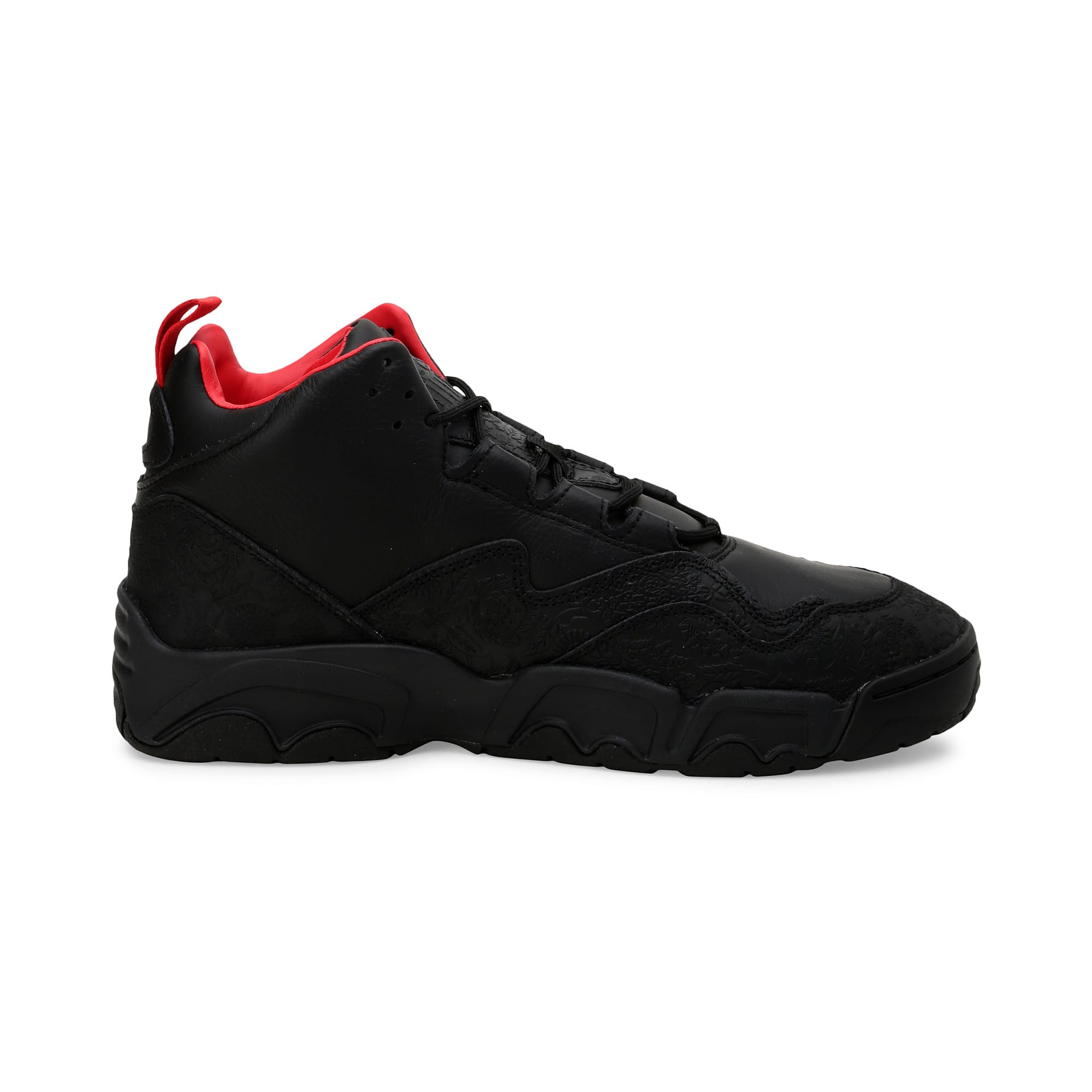 Thumbnail 6 of Source Mid World Cup Trainers, P Blk-Bronze-High Risk Red, medium-IND