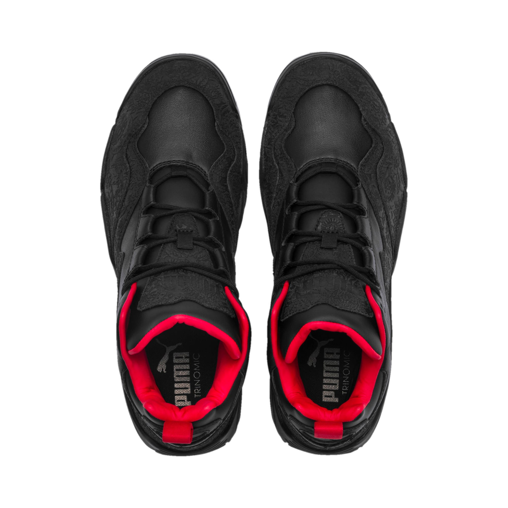 Thumbnail 7 of Source Mid World Cup Sneakers, P Blk-Bronze-High Risk Red, medium