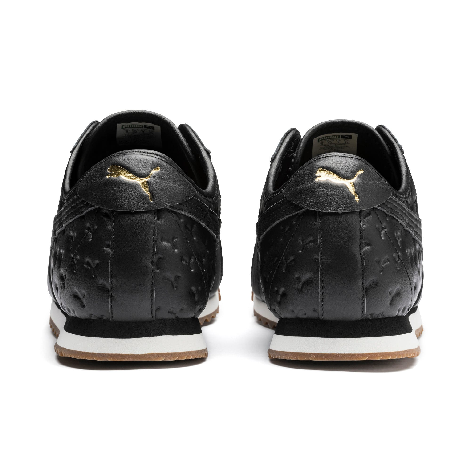 Thumbnail 4 of Roma '68 Gum Sneakers, Puma Black-Puma Black, medium
