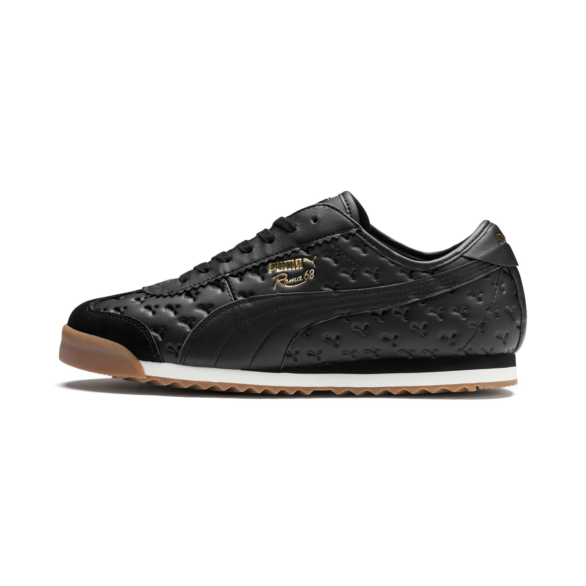 Thumbnail 1 of Roma '68 Gum Sneakers, Puma Black-Puma Black, medium