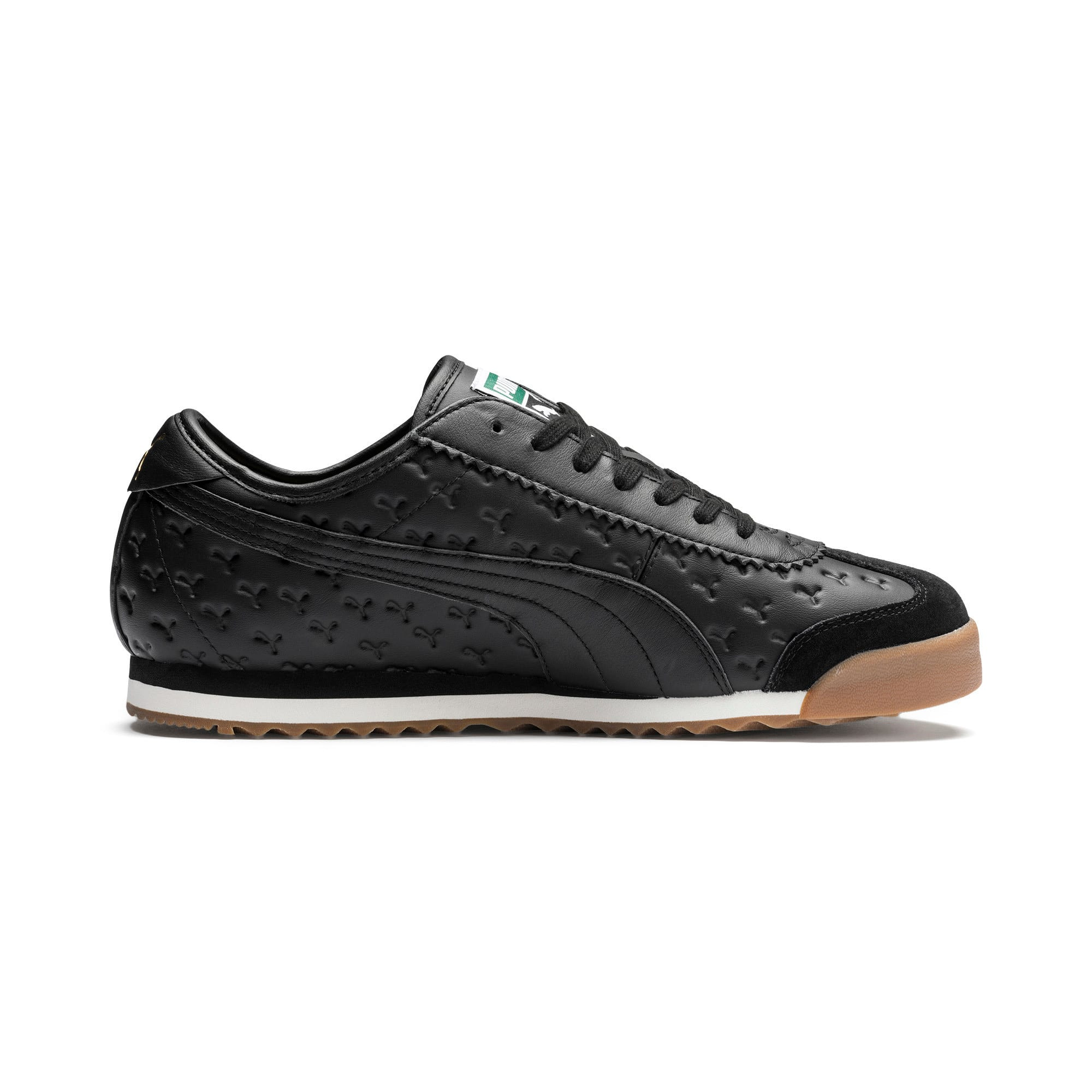 Thumbnail 6 of Roma '68 Gum Sneakers, Puma Black-Puma Black, medium
