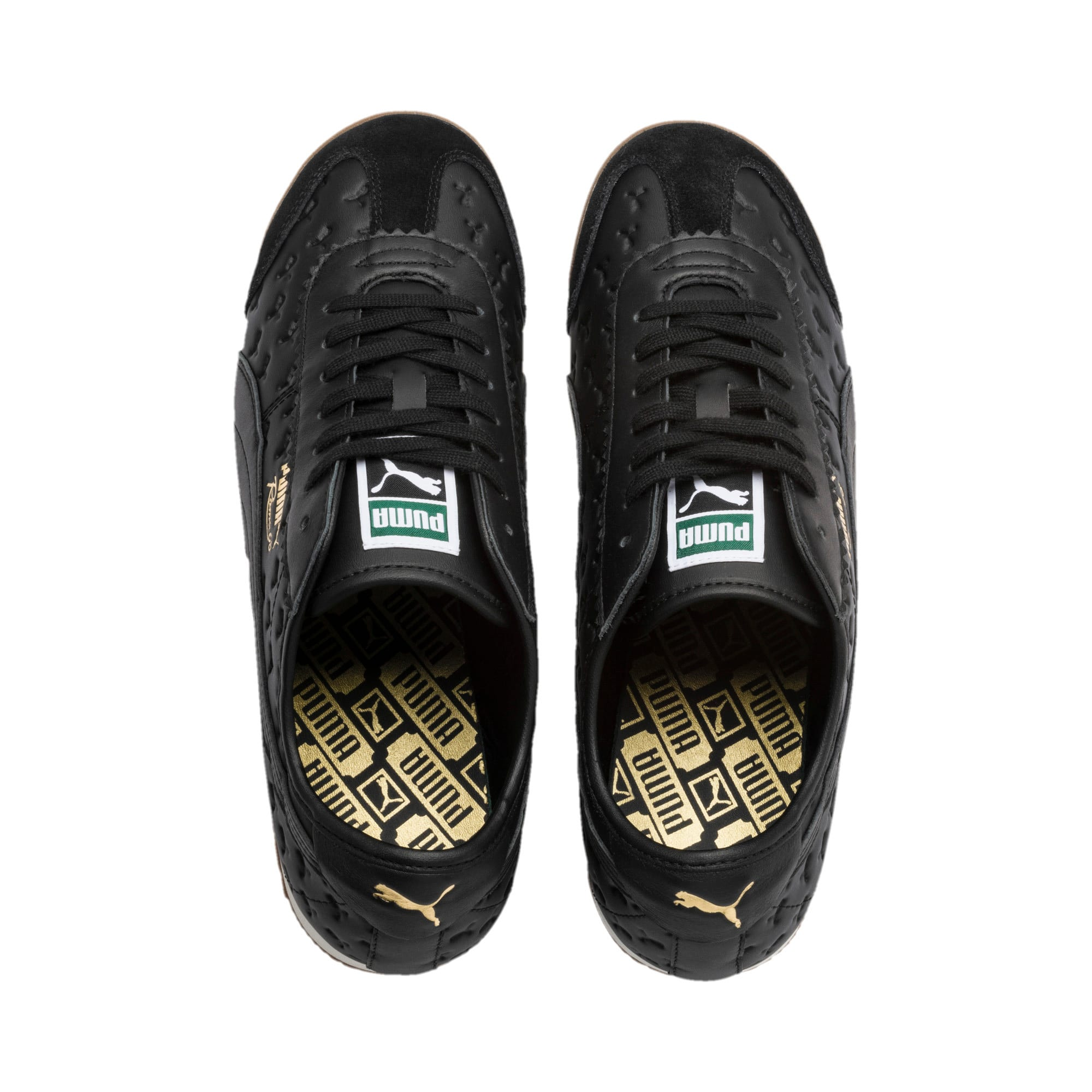 Thumbnail 7 of Roma '68 Gum Sneakers, Puma Black-Puma Black, medium