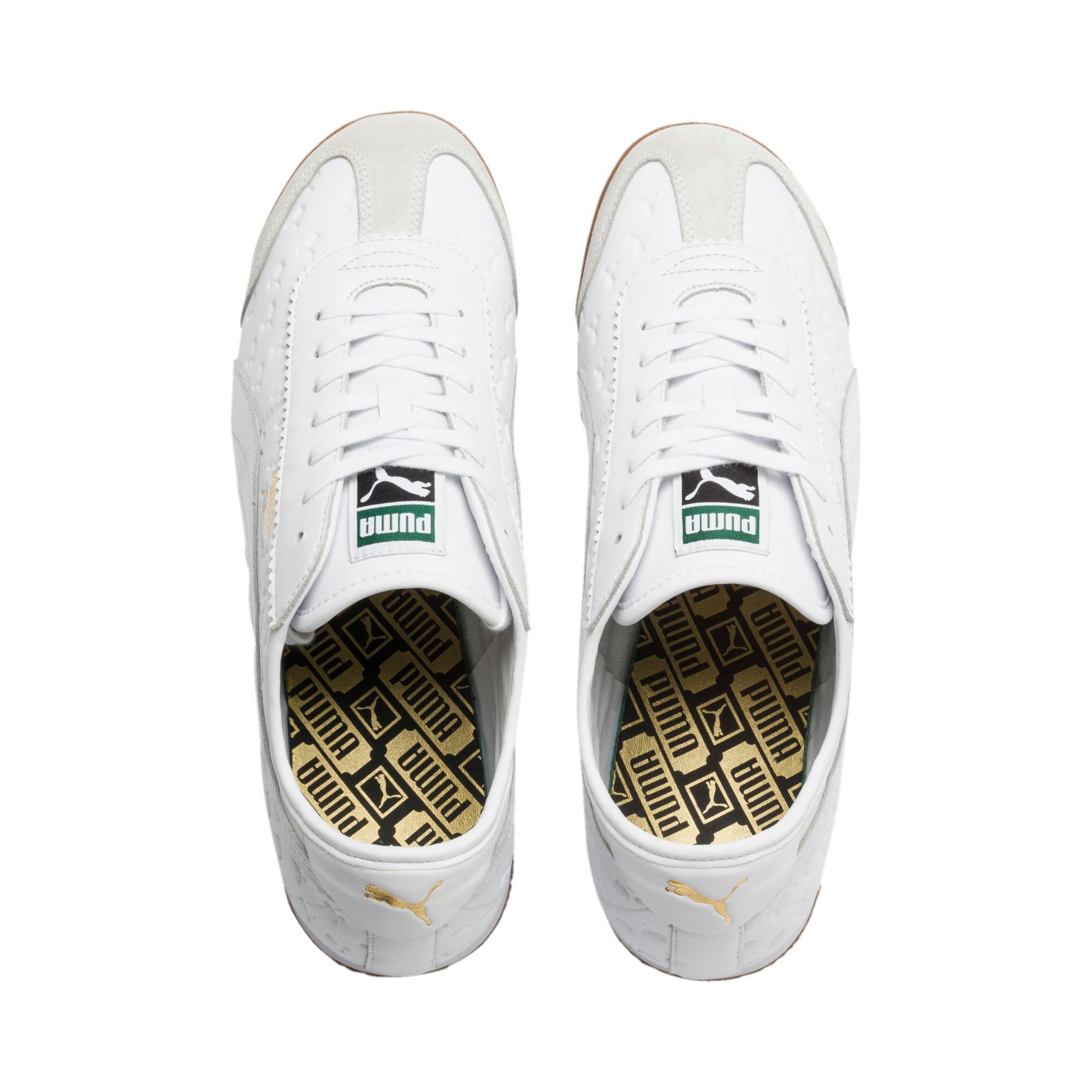 Thumbnail 7 of Roma '68 Gum Sneakers, Puma White-Puma White, medium
