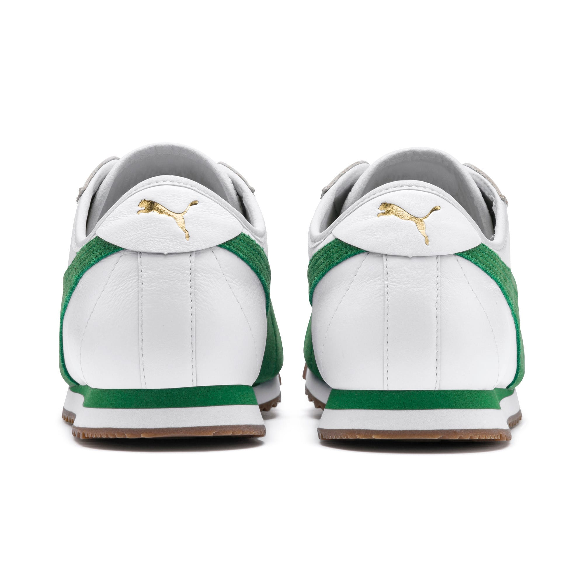 Thumbnail 4 of Roma '68 OG Sneakers, Puma White-Amazon Green, medium