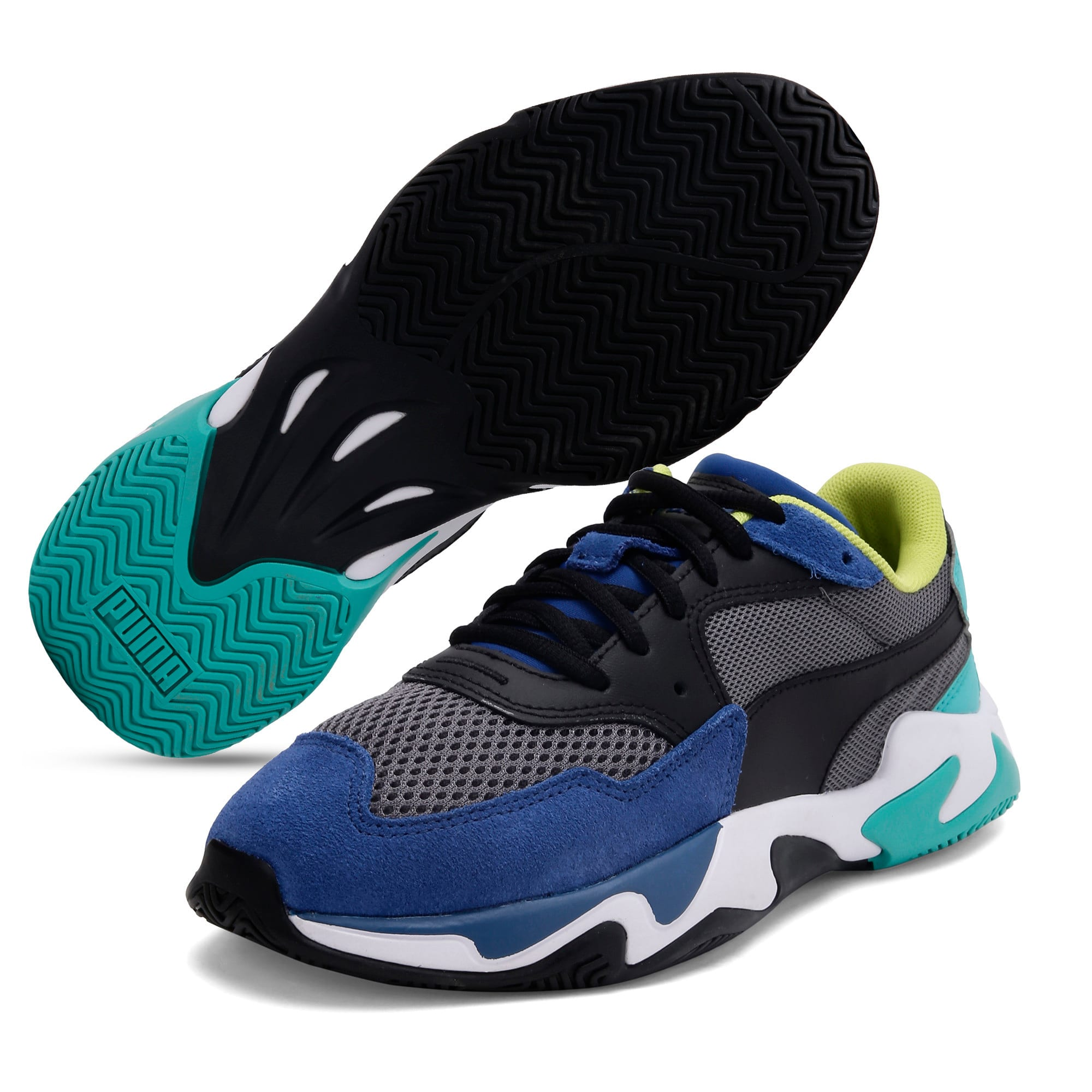 Thumbnail 2 of Storm Origin Youth Trainers, Galaxy Blue-CASTLEROCK, medium-IND