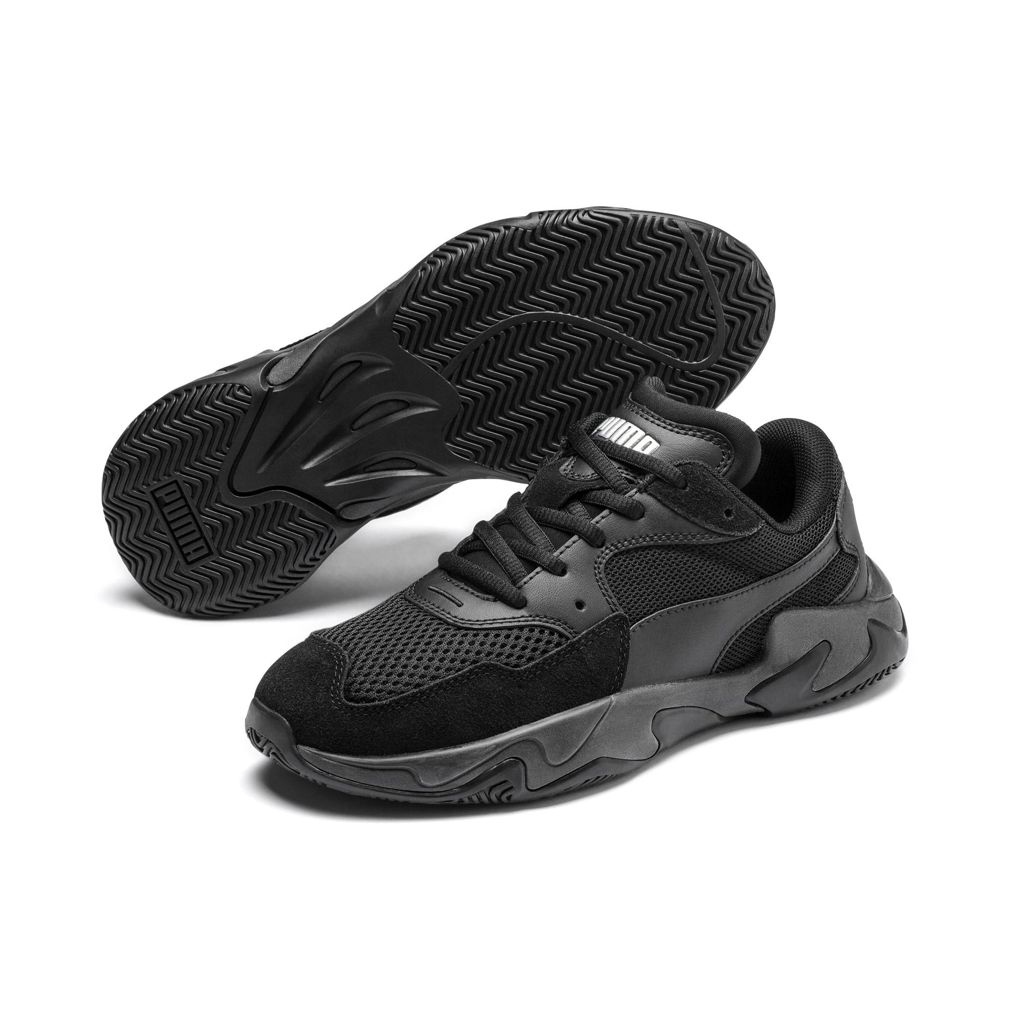 Storm Origin Youth Trainers, Puma Black, large
