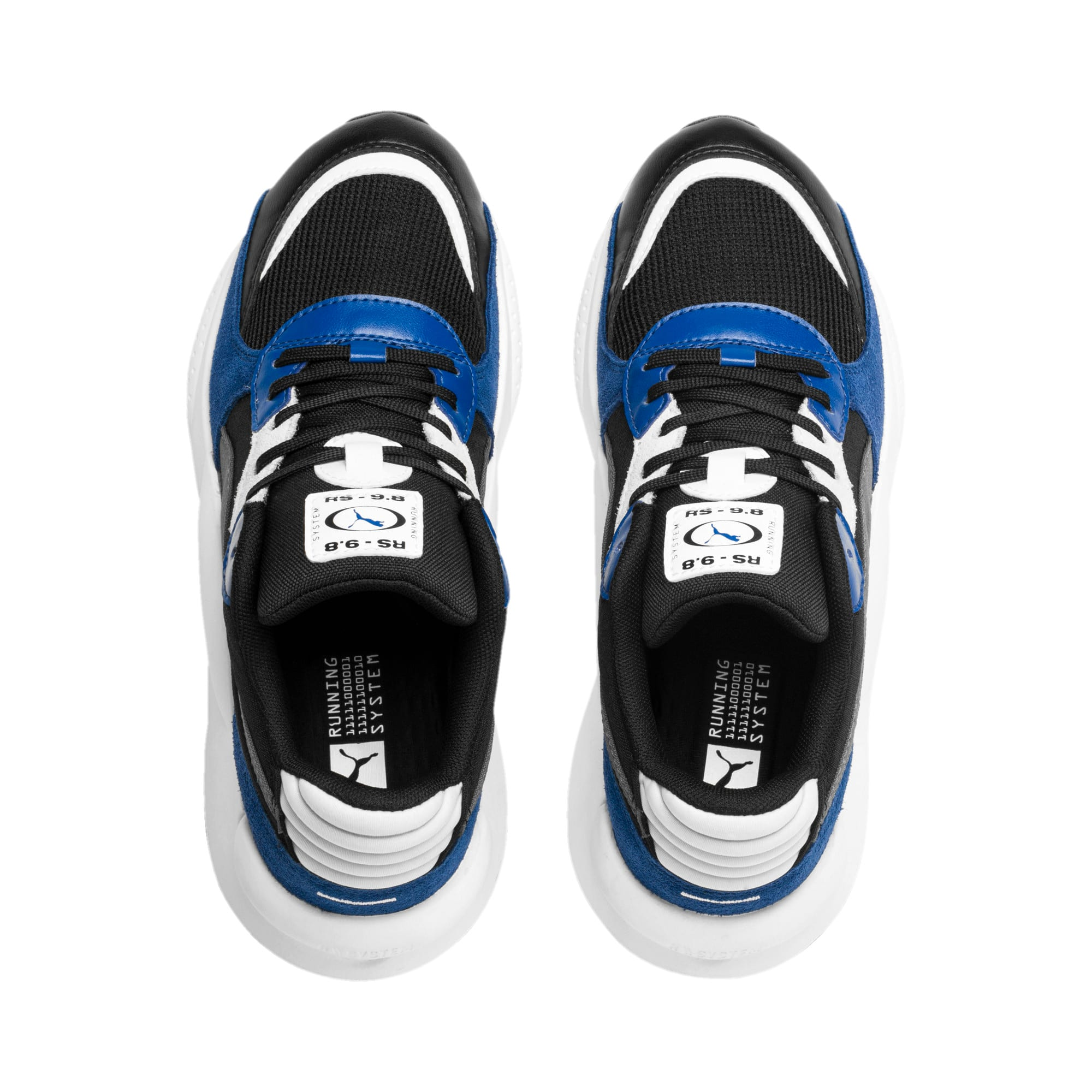 Thumbnail 6 of RS 9.8 Space Youth Sneaker, Puma Black-Galaxy Blue, medium