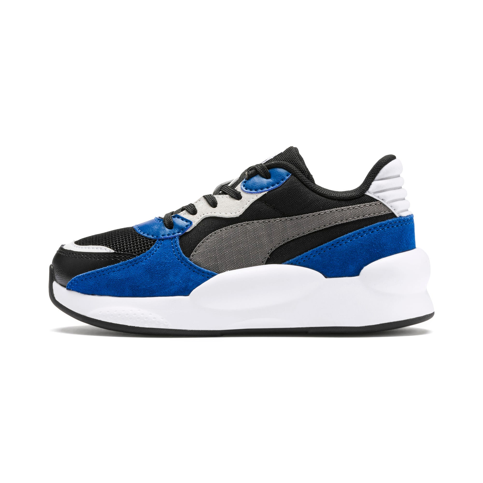 Thumbnail 1 of RS 9.8 Space Kids' Trainers, Puma Black-Galaxy Blue, medium