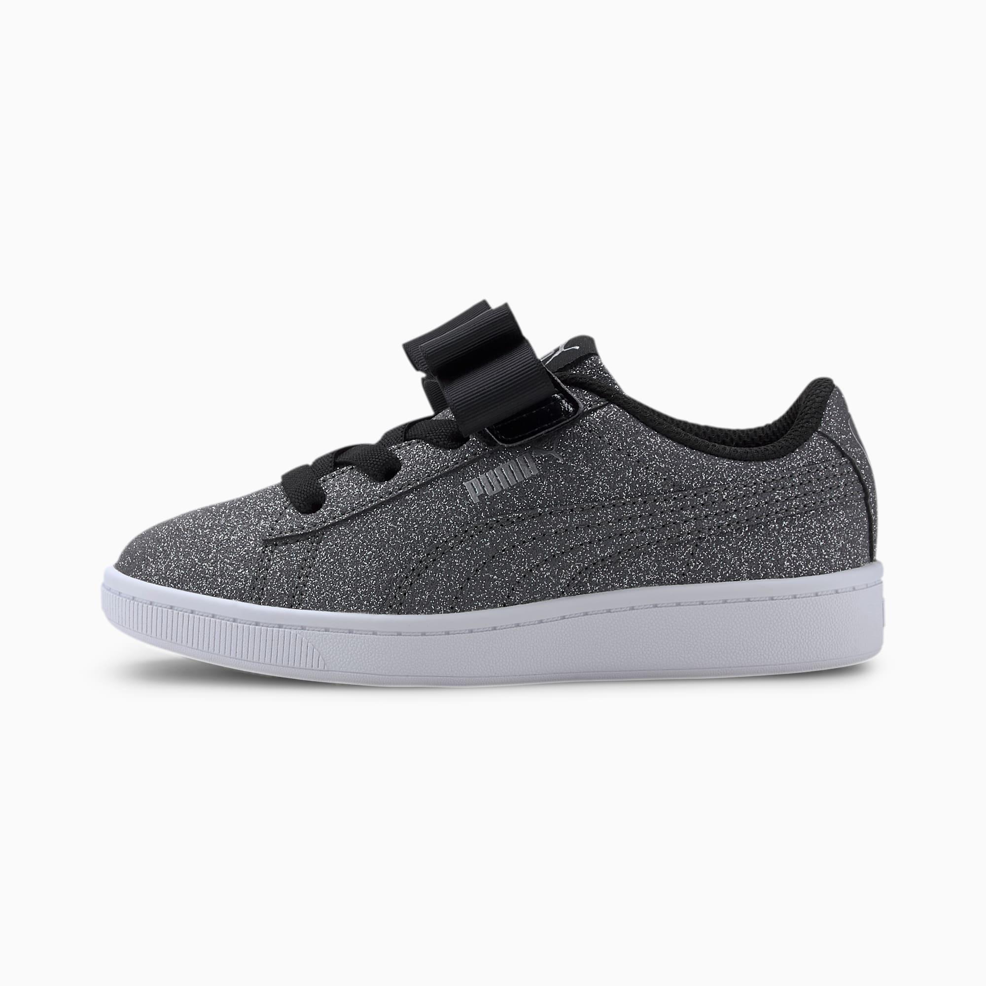 Puma Glitz V2 Vikky AC Black Silver Sneakers
