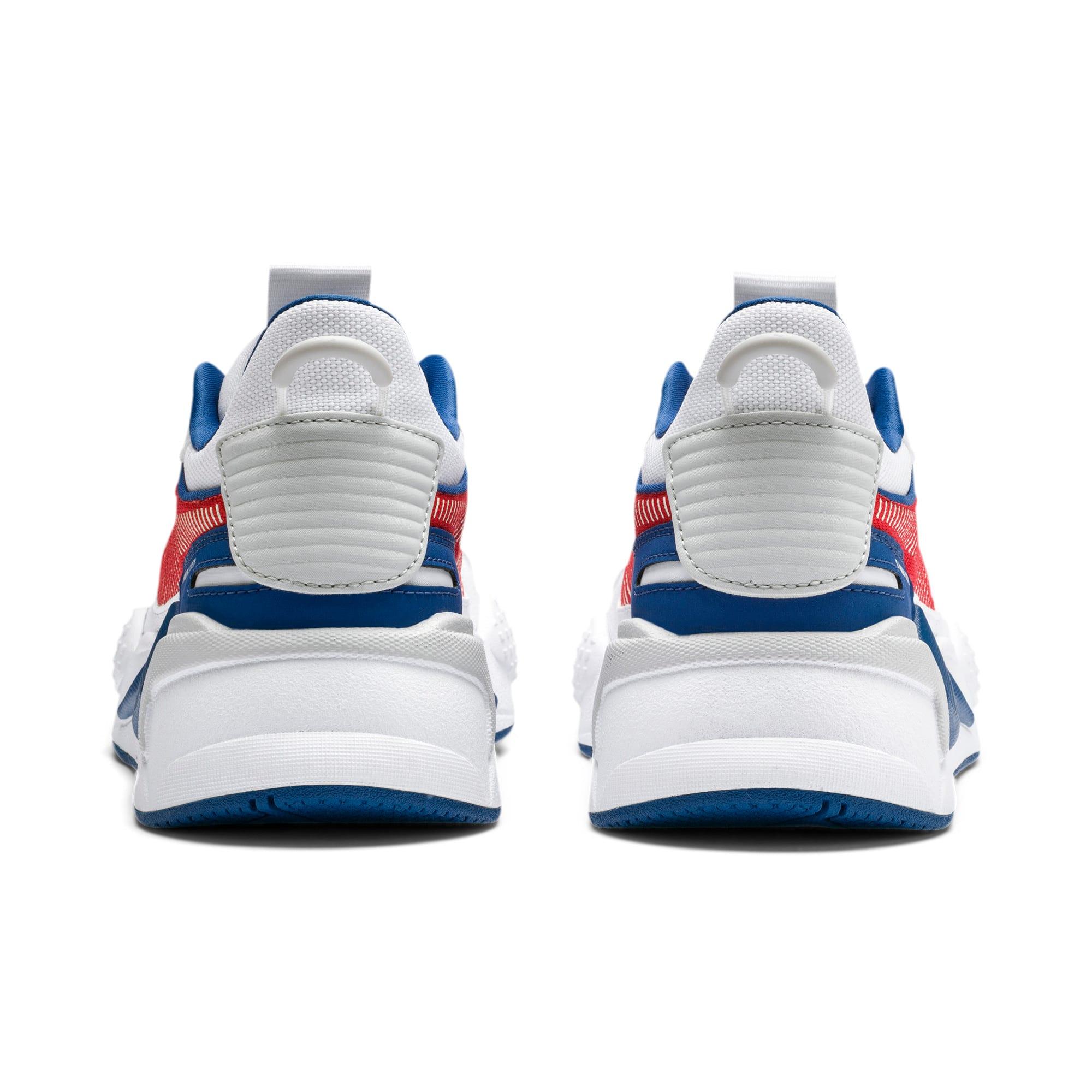 Thumbnail 3 of RS-X Hard Drive Sneakers JR, Puma White-High Risk Red, medium