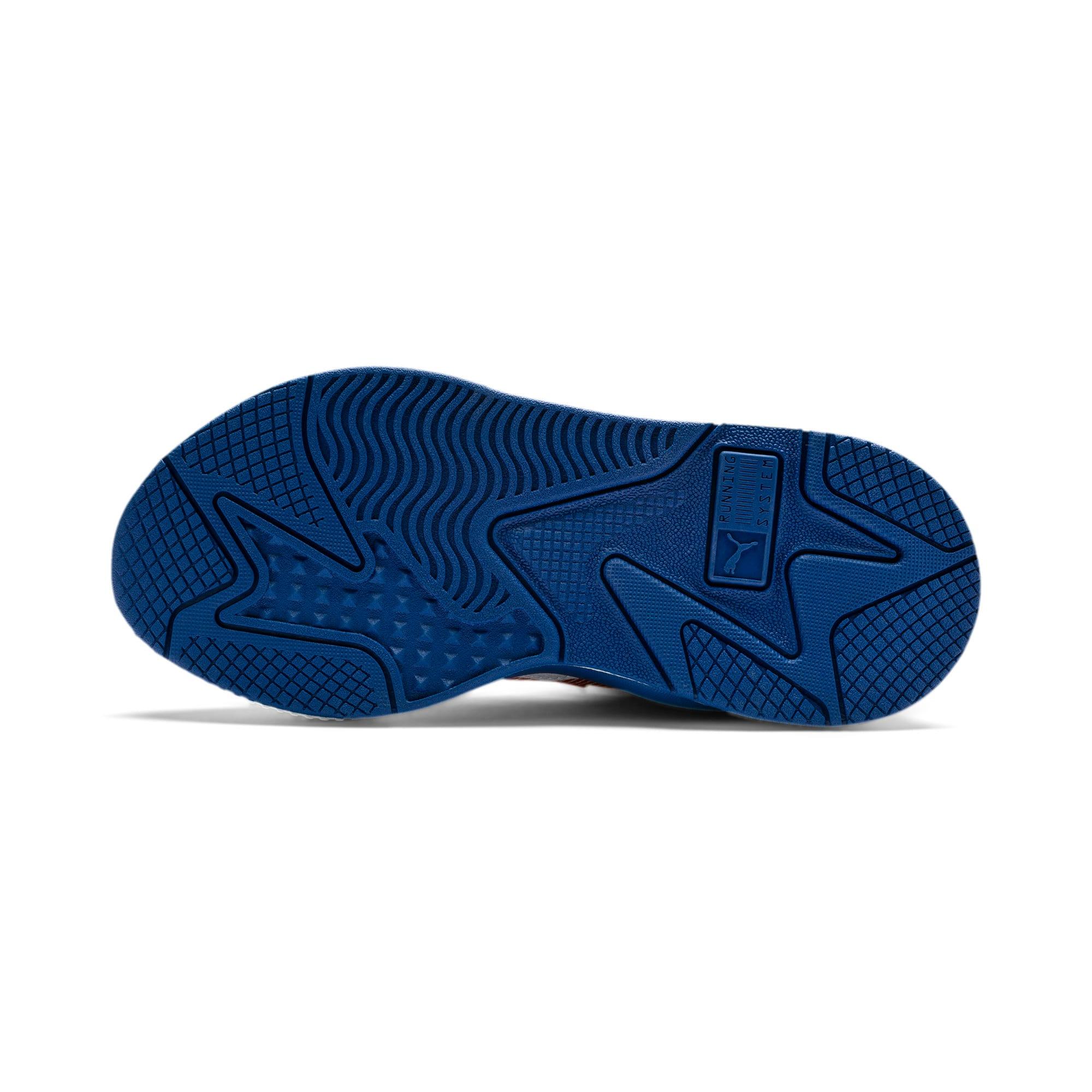 Thumbnail 4 of RS-X Hard Drive Sneakers JR, Puma White-High Risk Red, medium