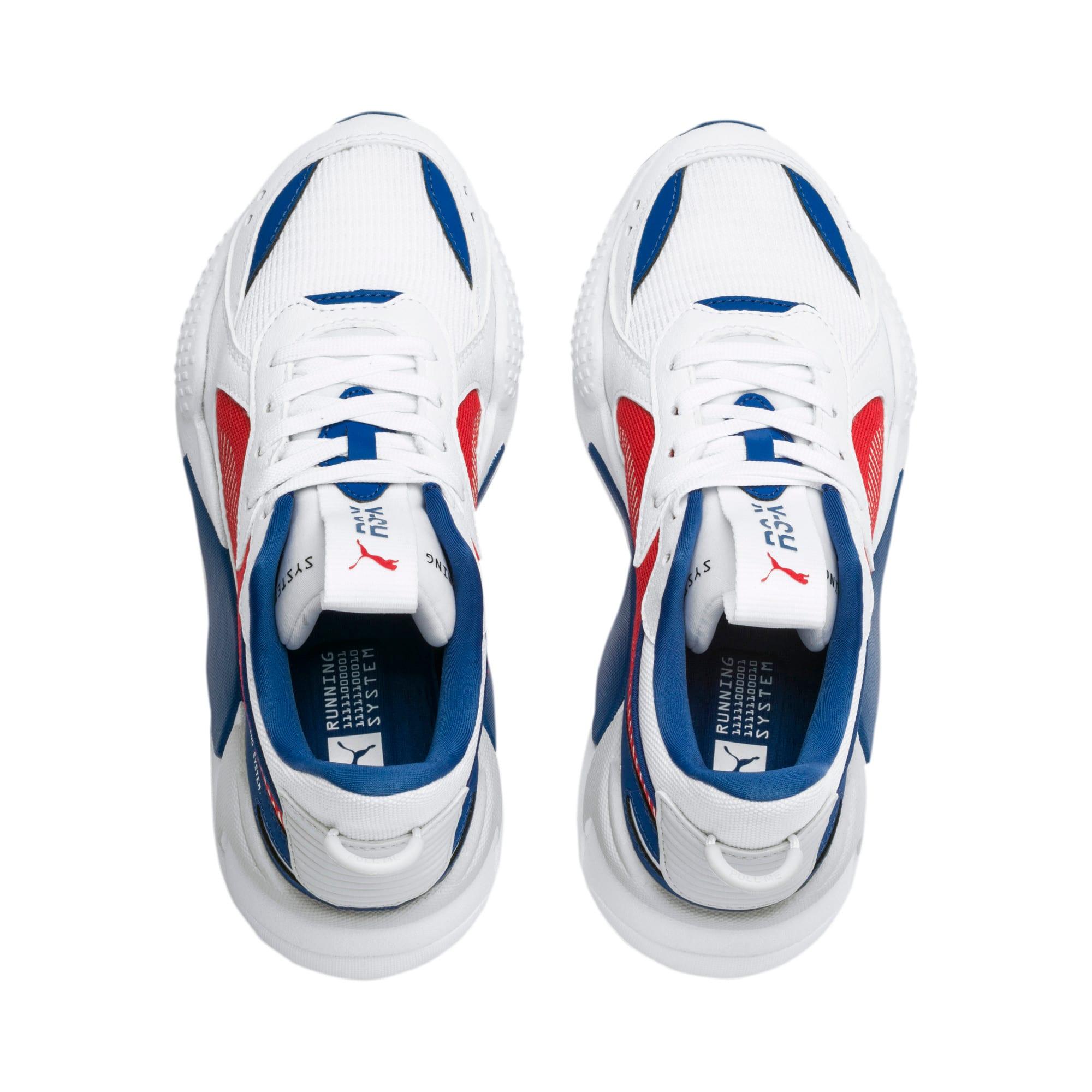 Thumbnail 6 of RS-X Hard Drive Sneakers JR, Puma White-High Risk Red, medium