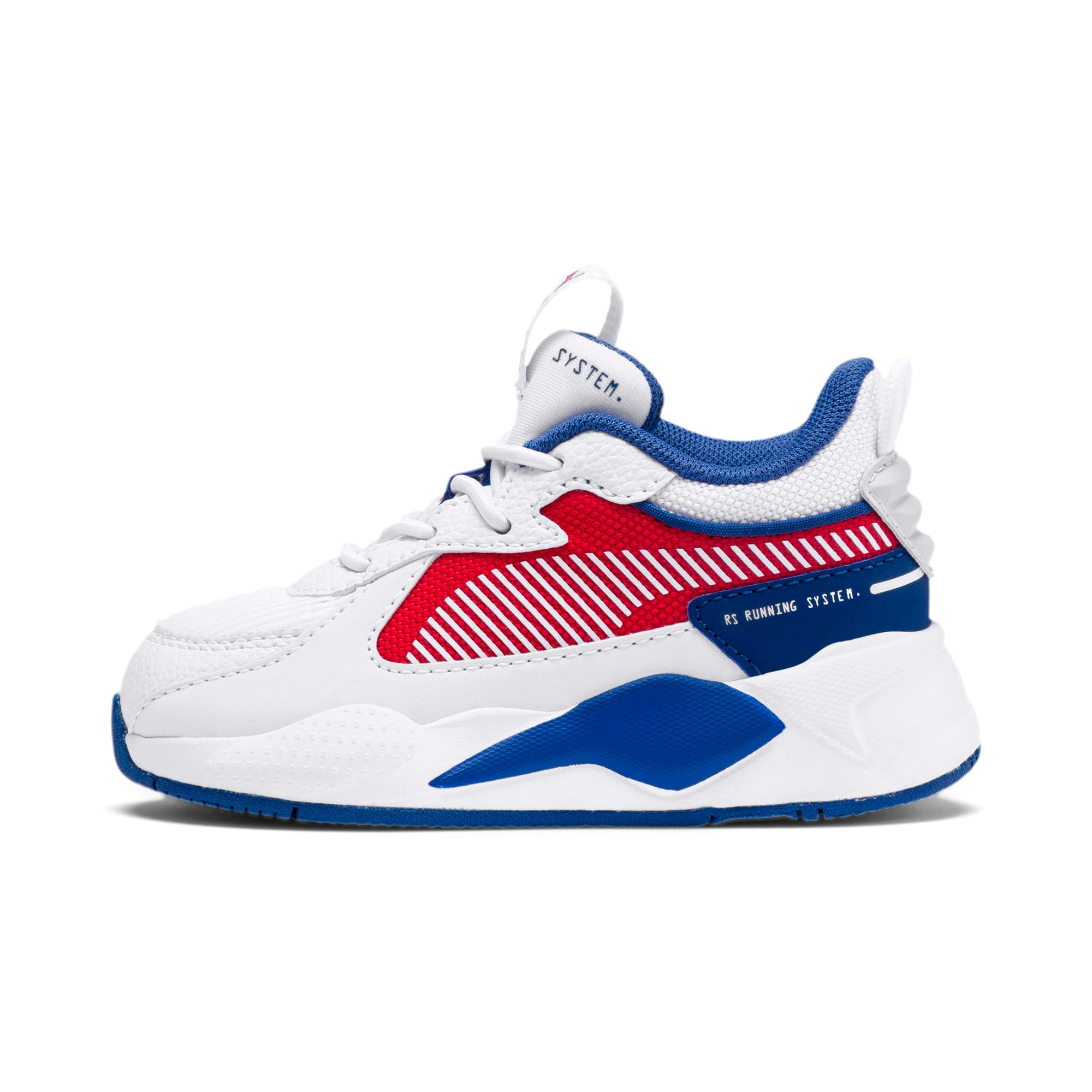 Thumbnail 1 of RS-X Hard Drive AC Toddler Shoes, Puma White-High Risk Red, medium