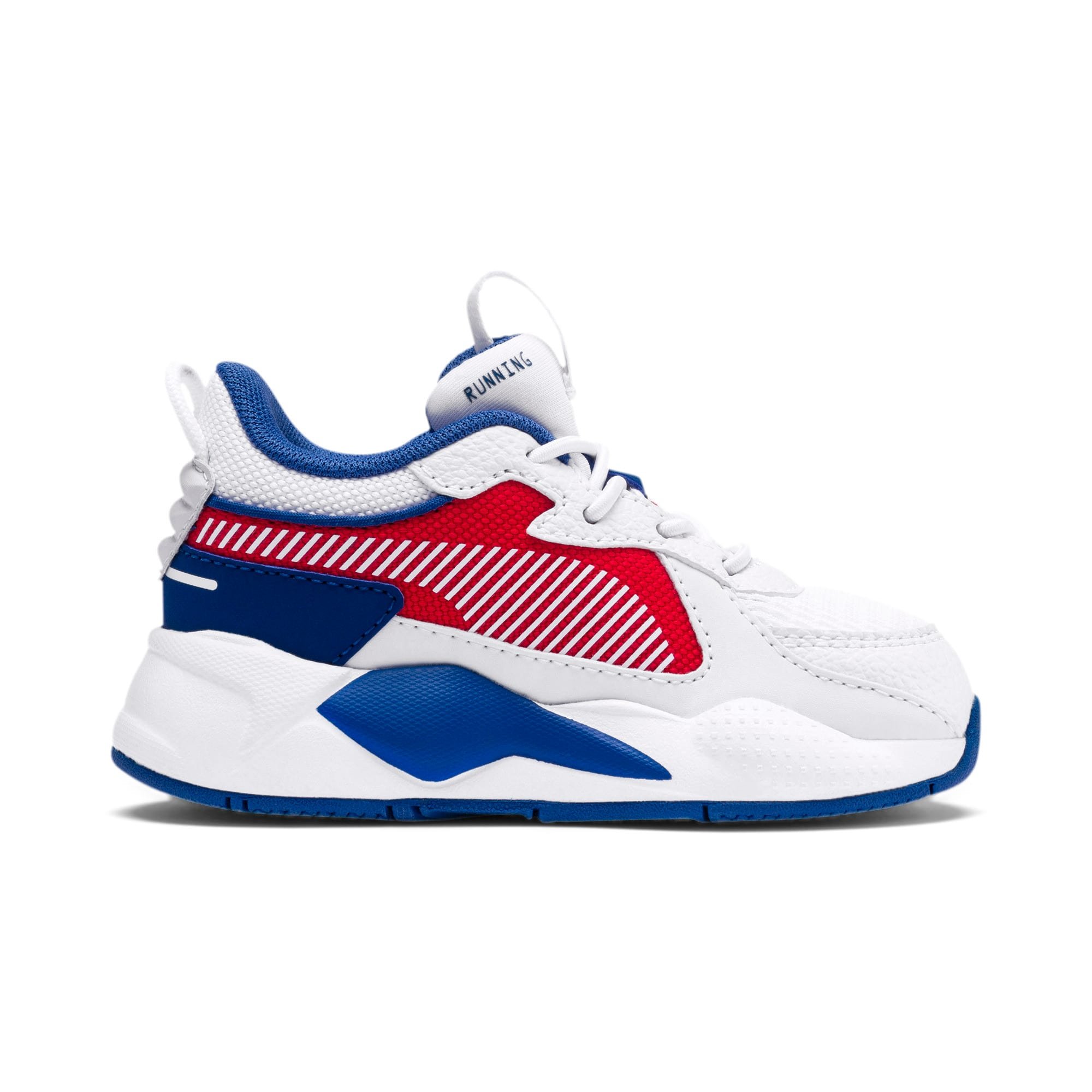 Thumbnail 5 of RS-X Hard Drive AC Toddler Shoes, Puma White-High Risk Red, medium