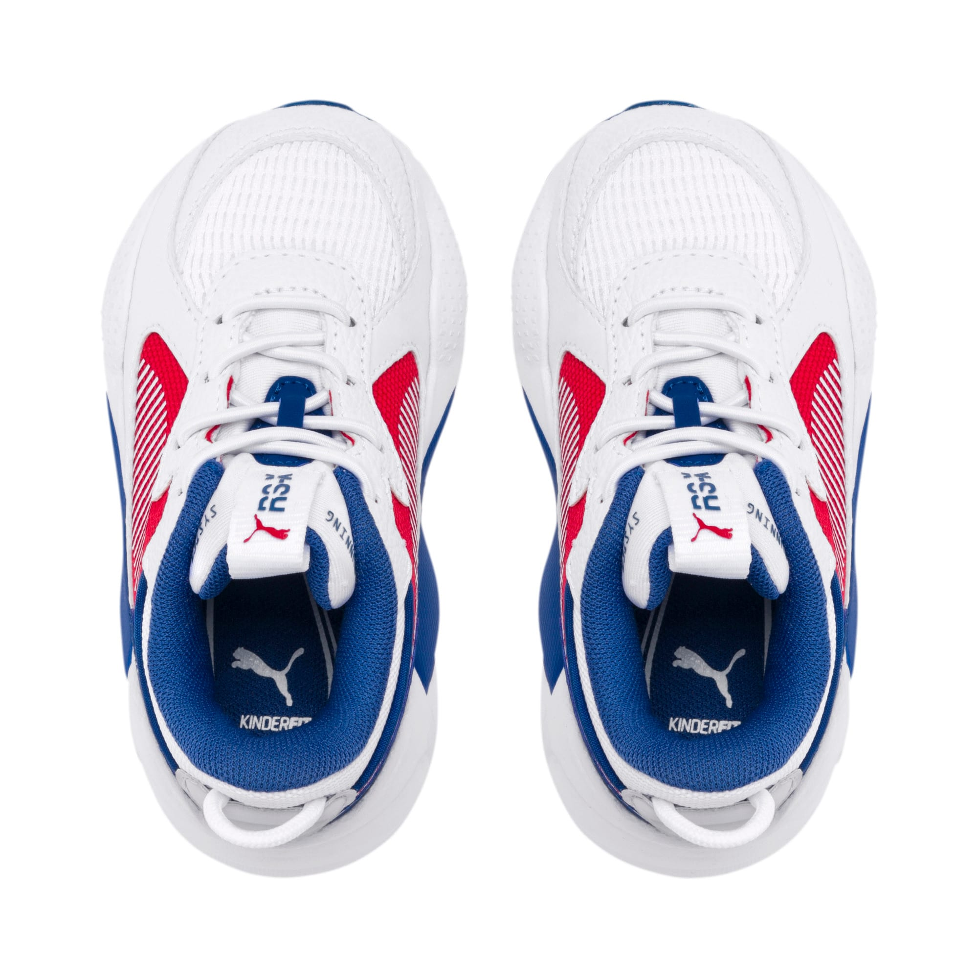 Thumbnail 6 of RS-X Hard Drive AC Toddler Shoes, Puma White-High Risk Red, medium