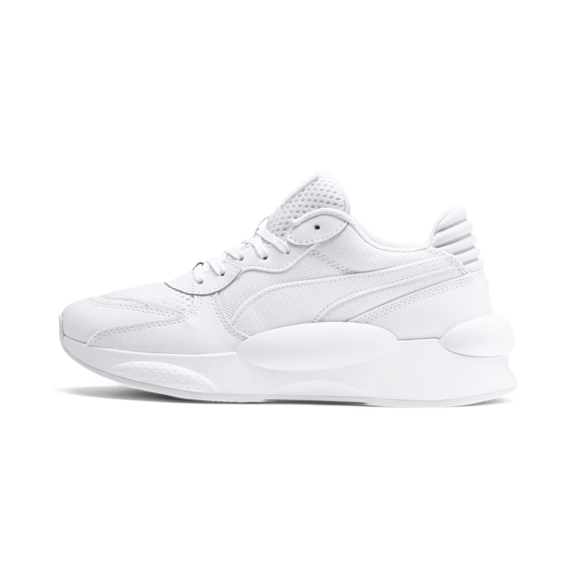 Thumbnail 1 of RS 9.8 Core Youth Trainers, Puma White, medium