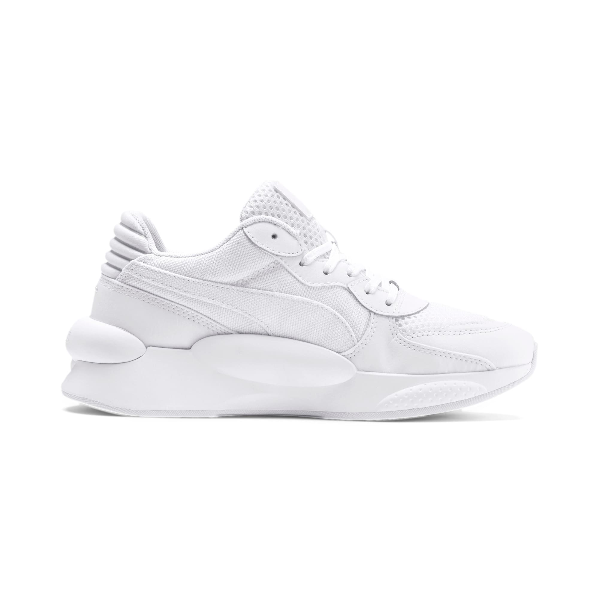 Thumbnail 5 of RS 9.8 Core Youth Trainers, Puma White, medium