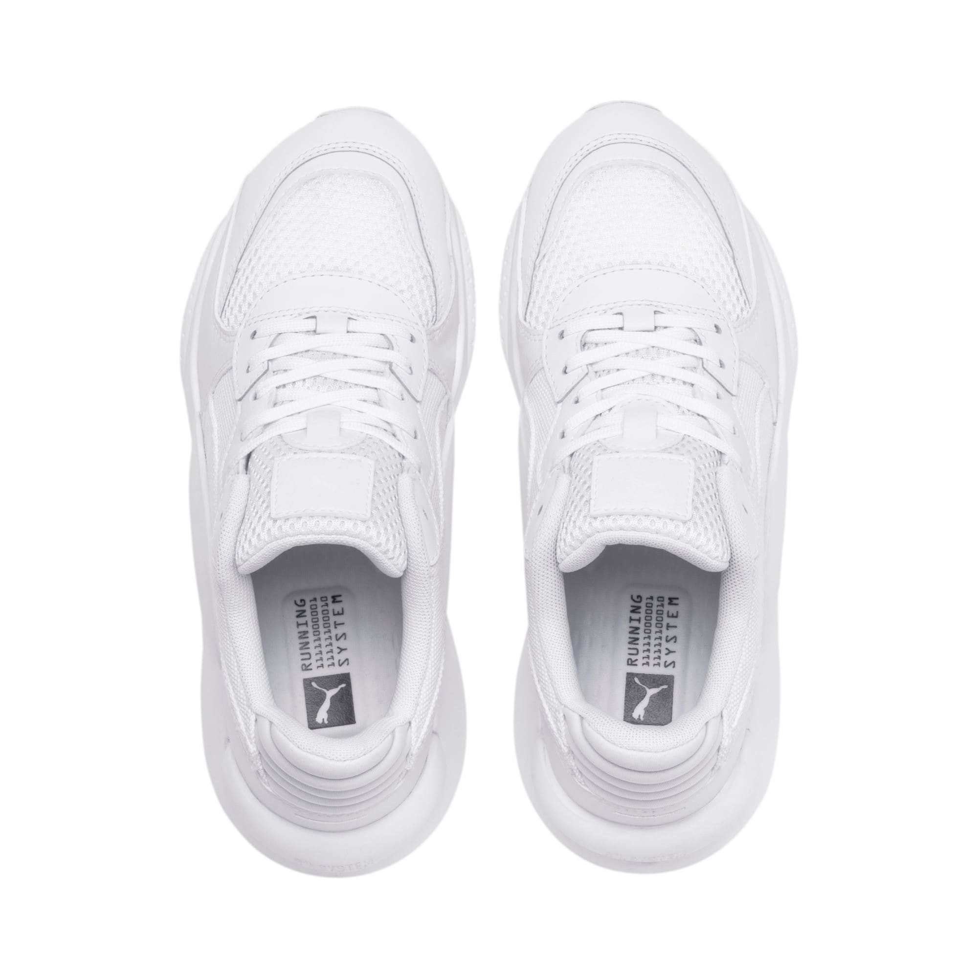 Thumbnail 6 of RS 9.8 Core Youth Trainers, Puma White, medium
