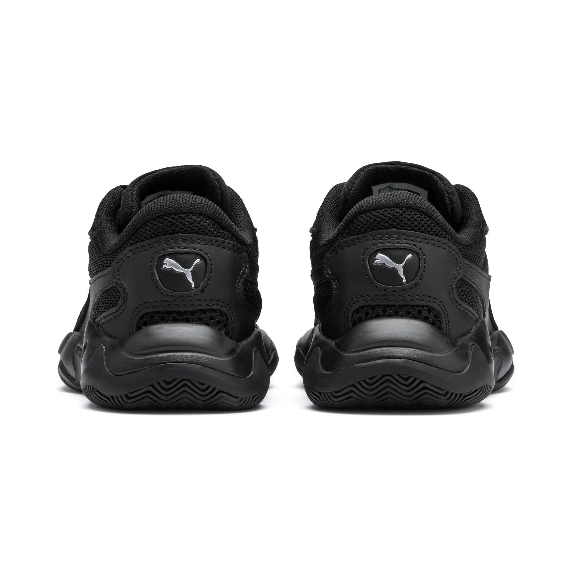 Thumbnail 3 of Storm Origin Kids Sneaker, Puma Black, medium
