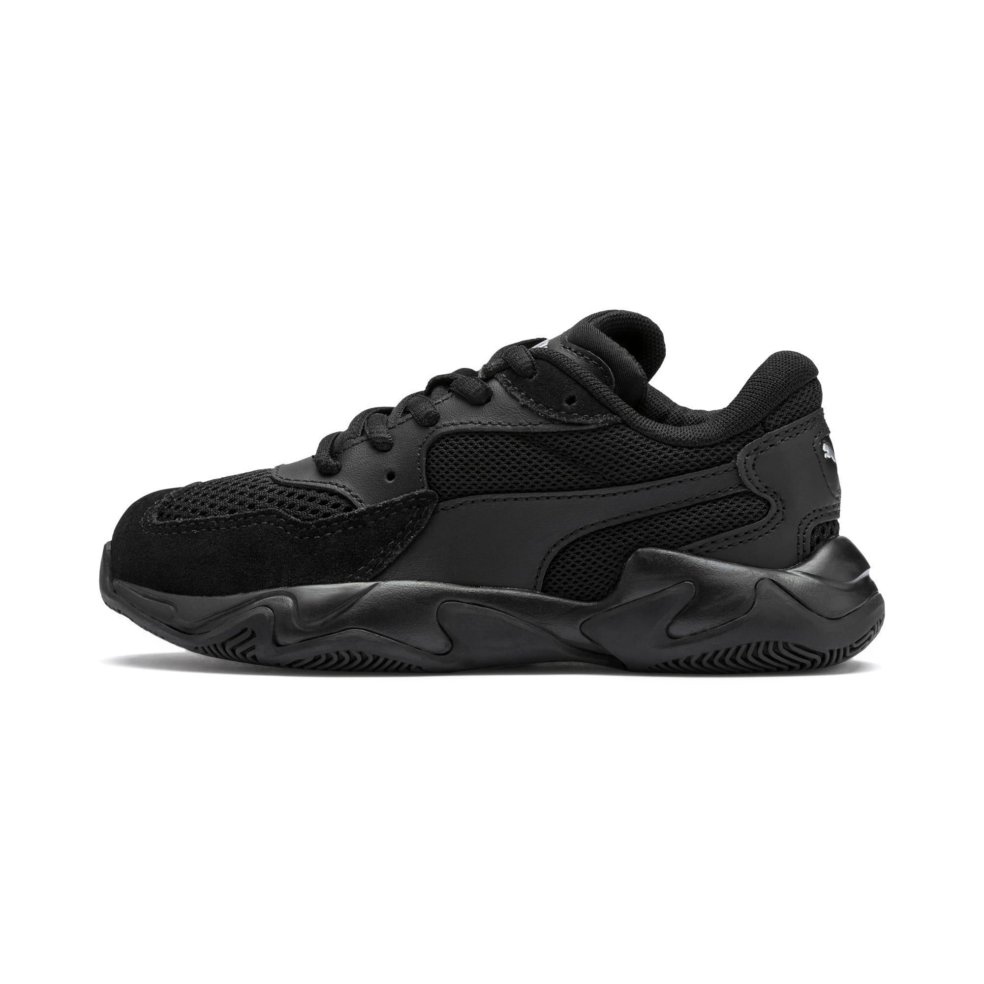 Thumbnail 1 of Storm Origin Kids Sneaker, Puma Black, medium