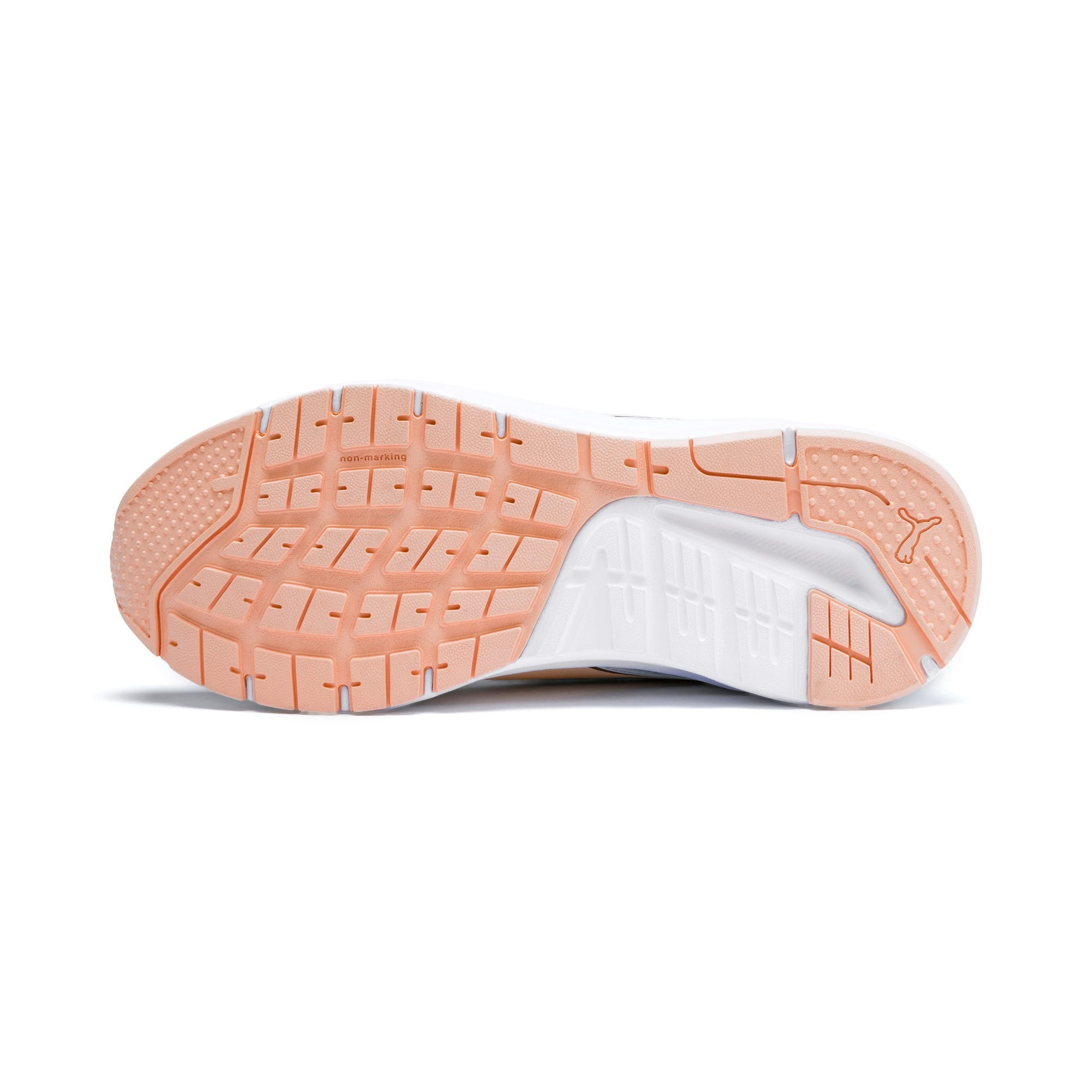 Thumbnail 4 of Pure Jogger Youth Trainers, White-Peach Parfait-A Silver, medium-IND