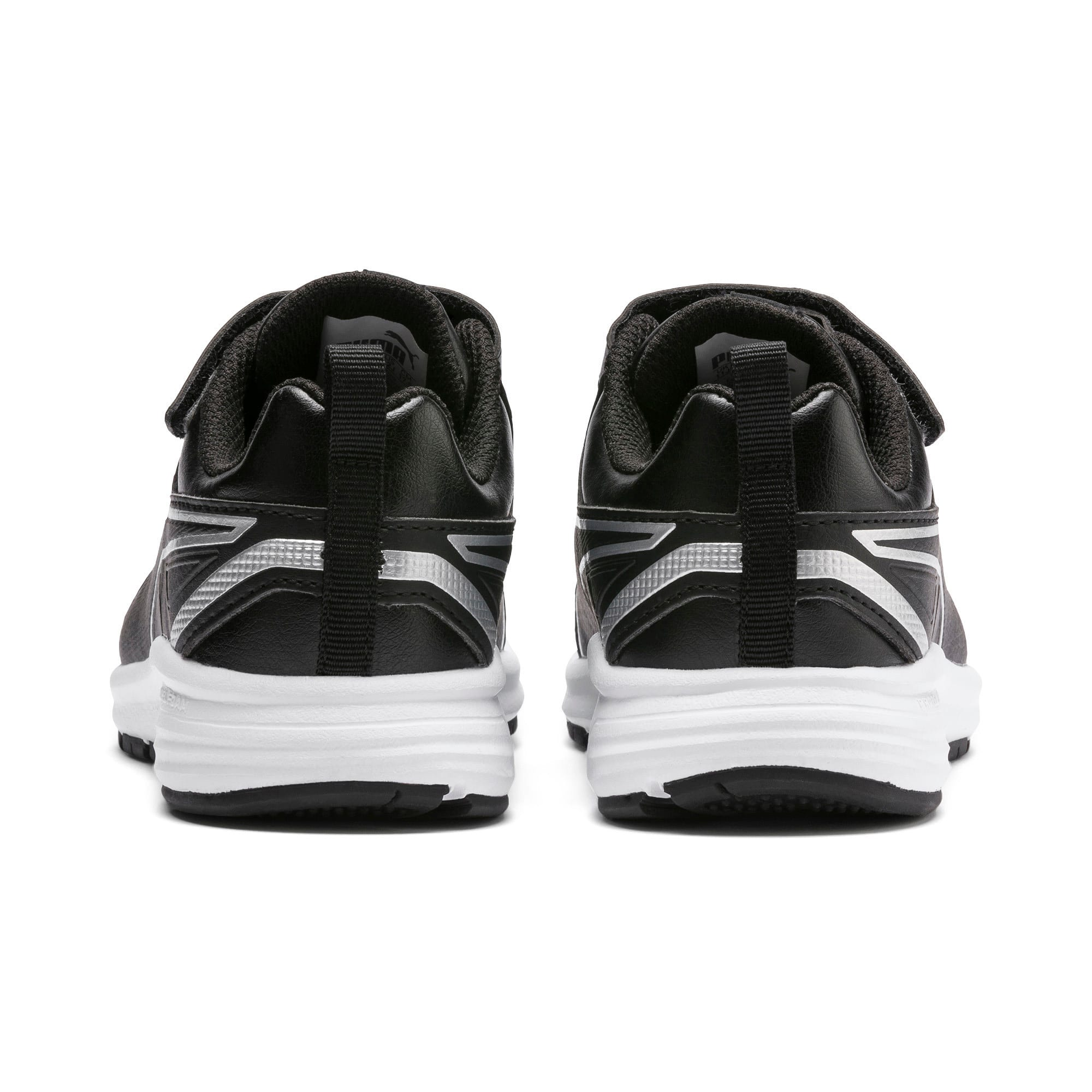 Thumbnail 3 of Pure Jogger SL Kids' Trainers, Puma Black-Puma Silver-White, medium-IND