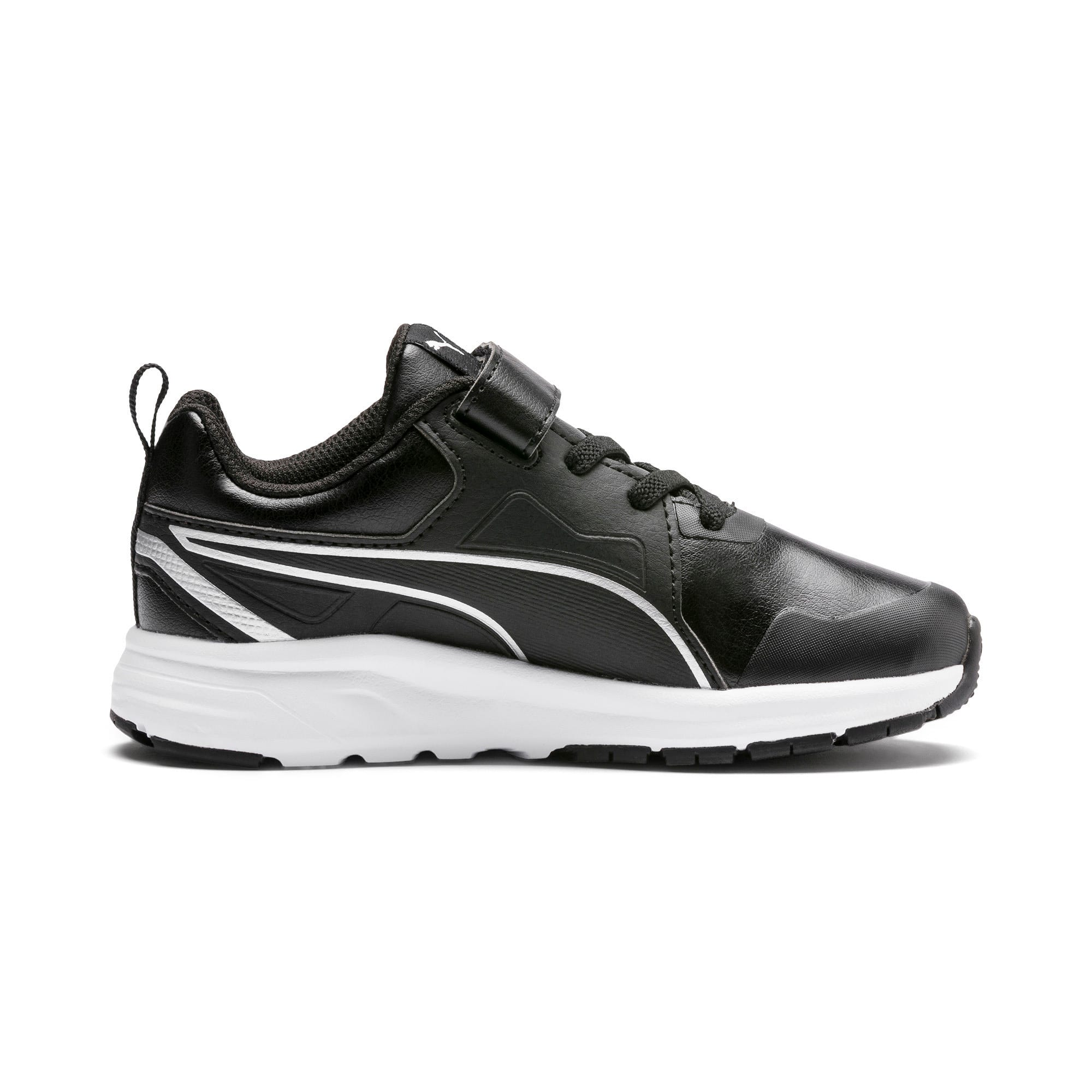 Thumbnail 5 of Pure Jogger SL Kids' Trainers, Puma Black-Puma Silver-White, medium-IND