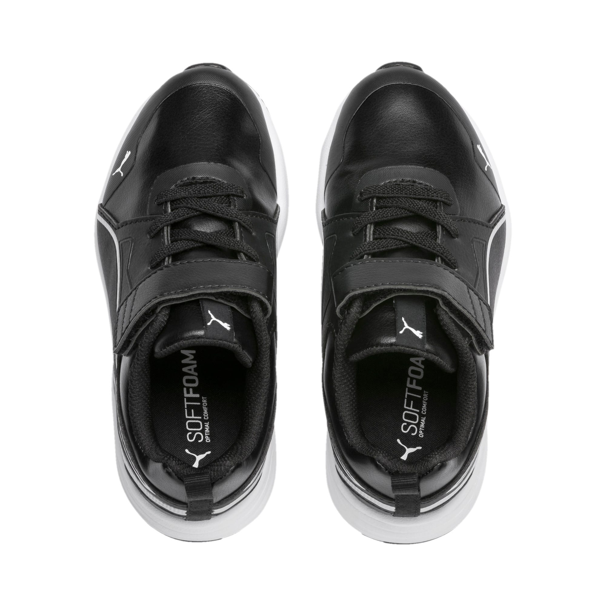 Thumbnail 6 of Pure Jogger SL Kids' Trainers, Puma Black-Puma Silver-White, medium-IND