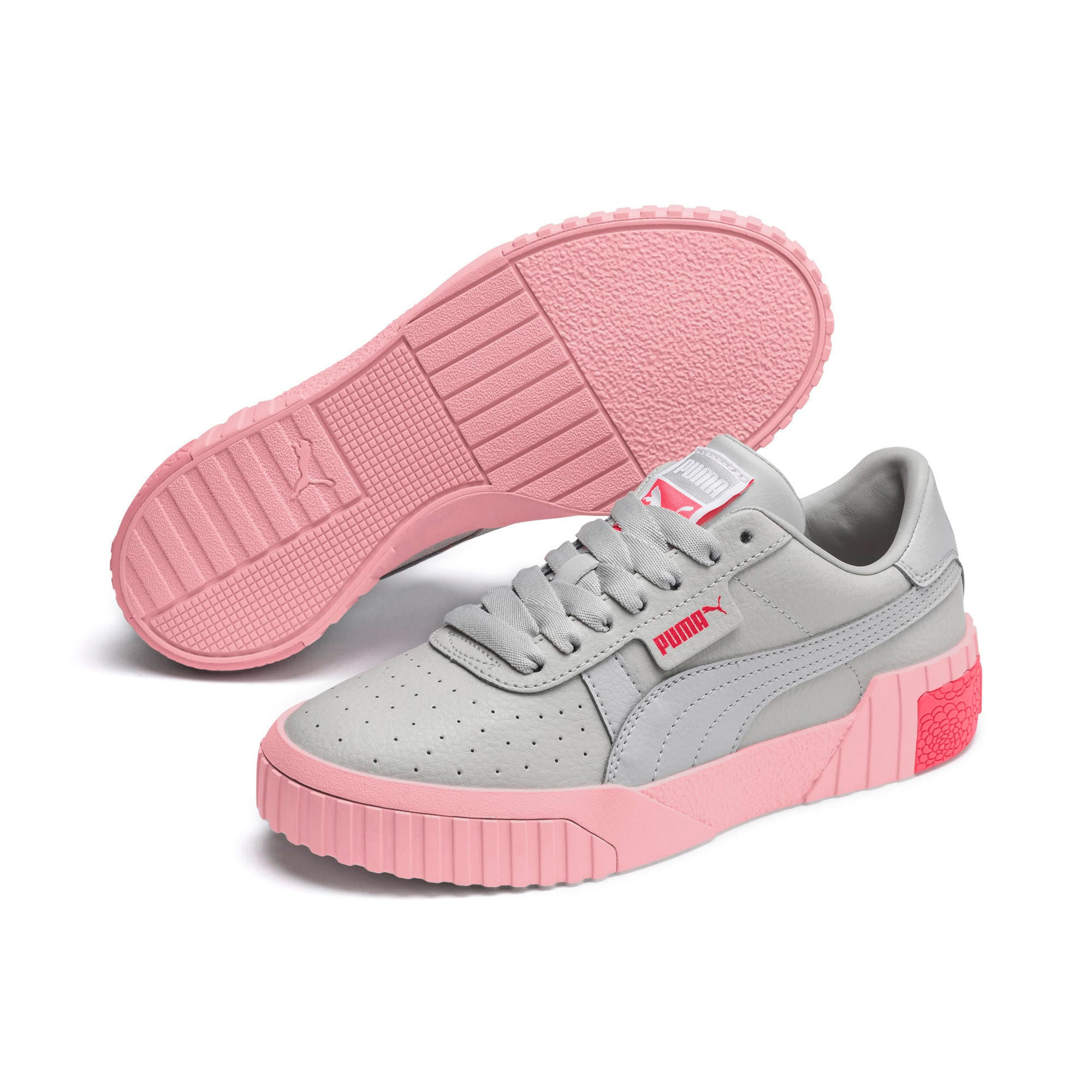 Thumbnail 2 of Cali Youth Trainers, Gray Violet-Calypso Coral, medium