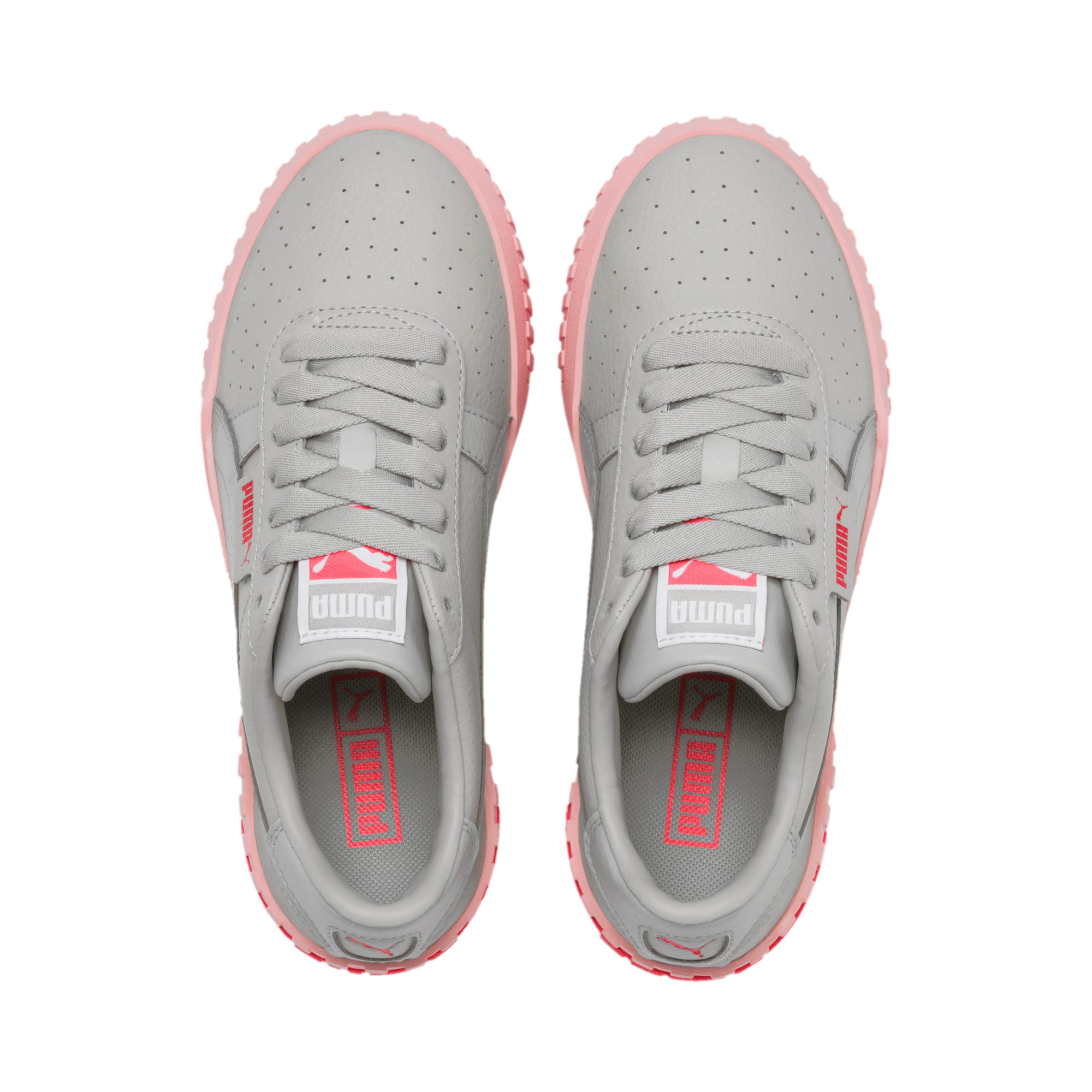 Thumbnail 6 of Cali Youth Trainers, Gray Violet-Calypso Coral, medium