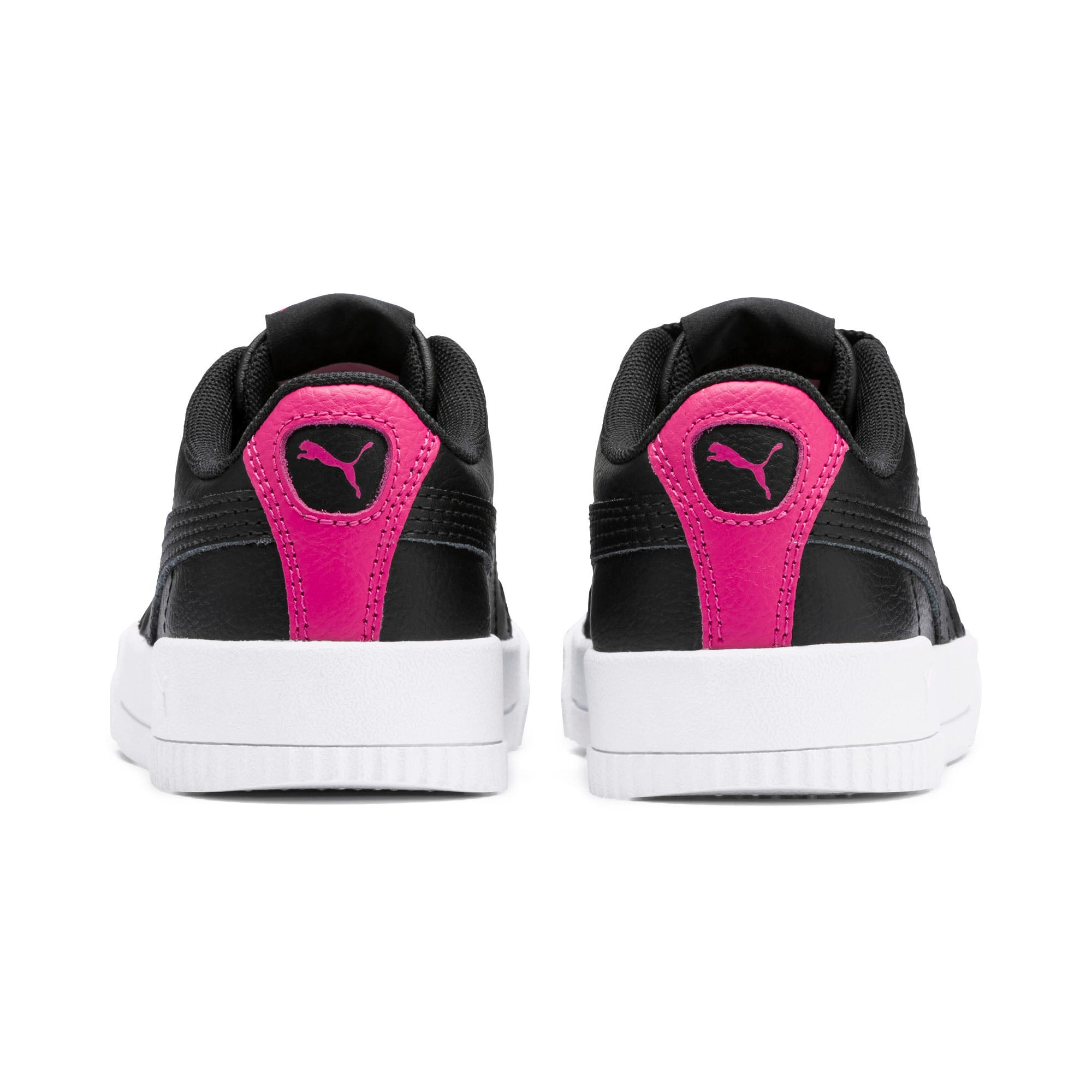 Thumbnail 3 of Carina L Kids' Trainers, Puma Black-Puma Black, medium