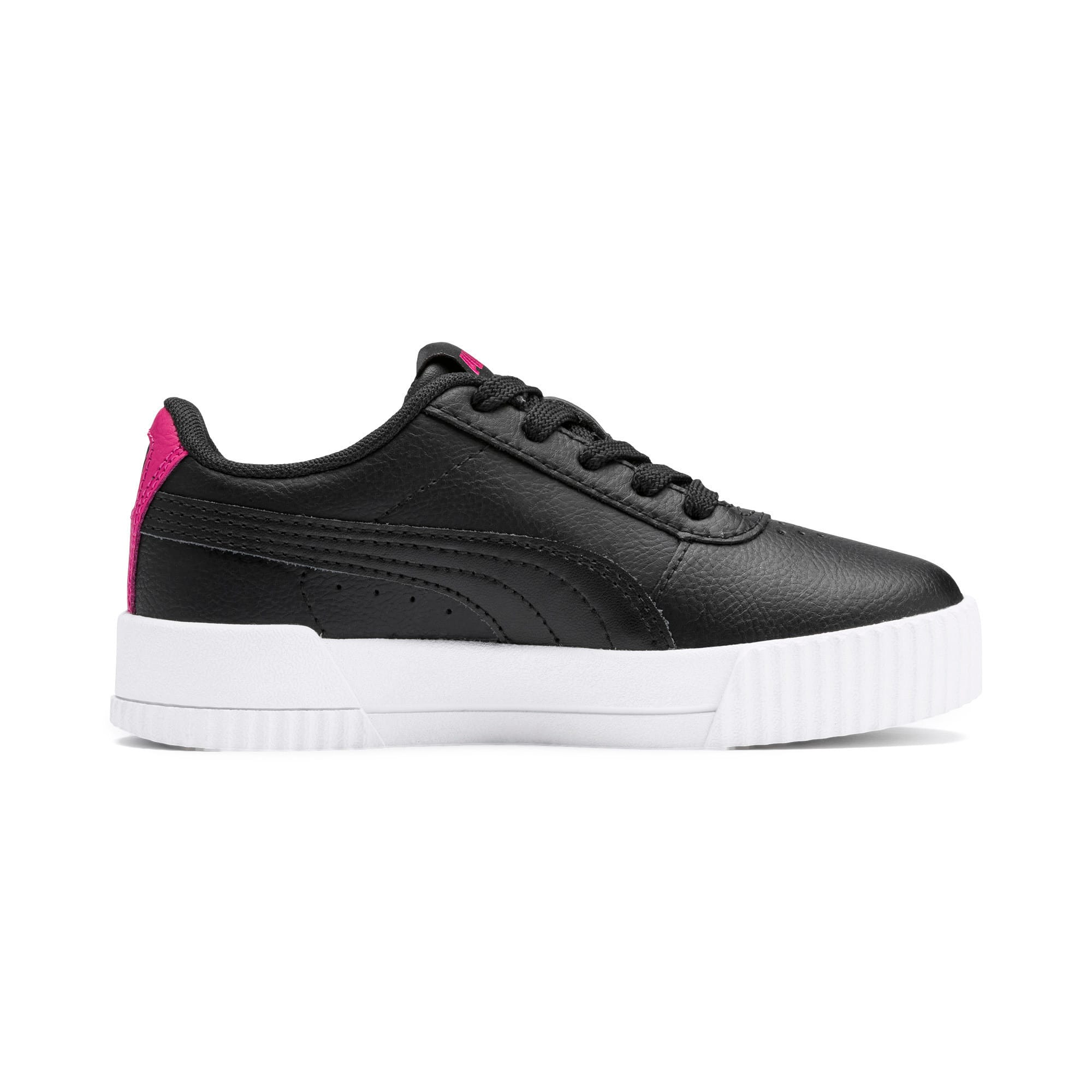 Thumbnail 5 of Carina L Kids' Trainers, Puma Black-Puma Black, medium